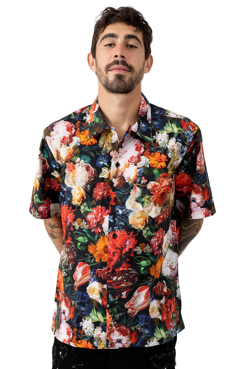 Raisedbywolves 77308 In Bloom Button-Up Shirt