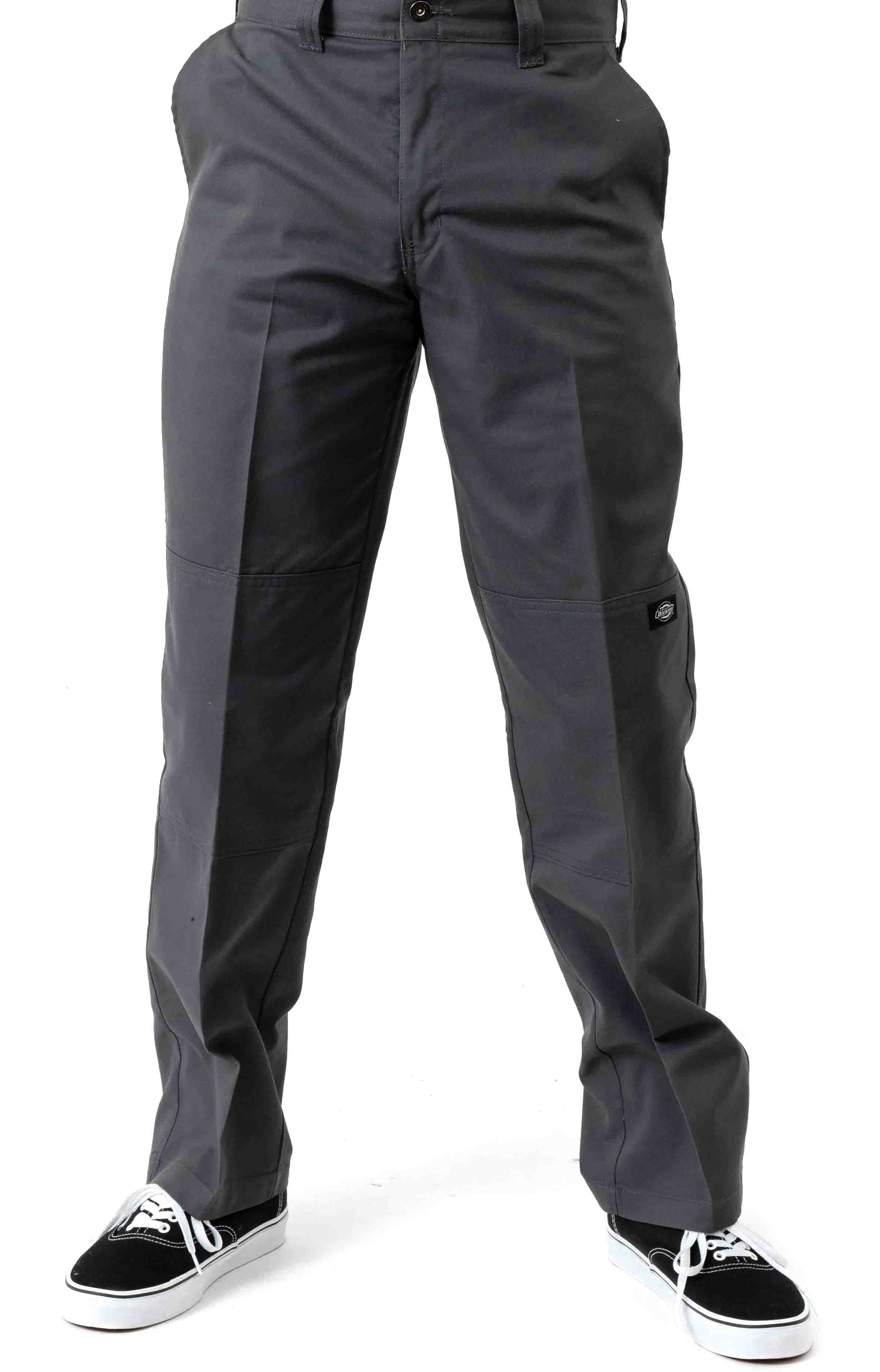 (WP896CH) '67 Regular Fit Double Knee Work Pants - Charcoal