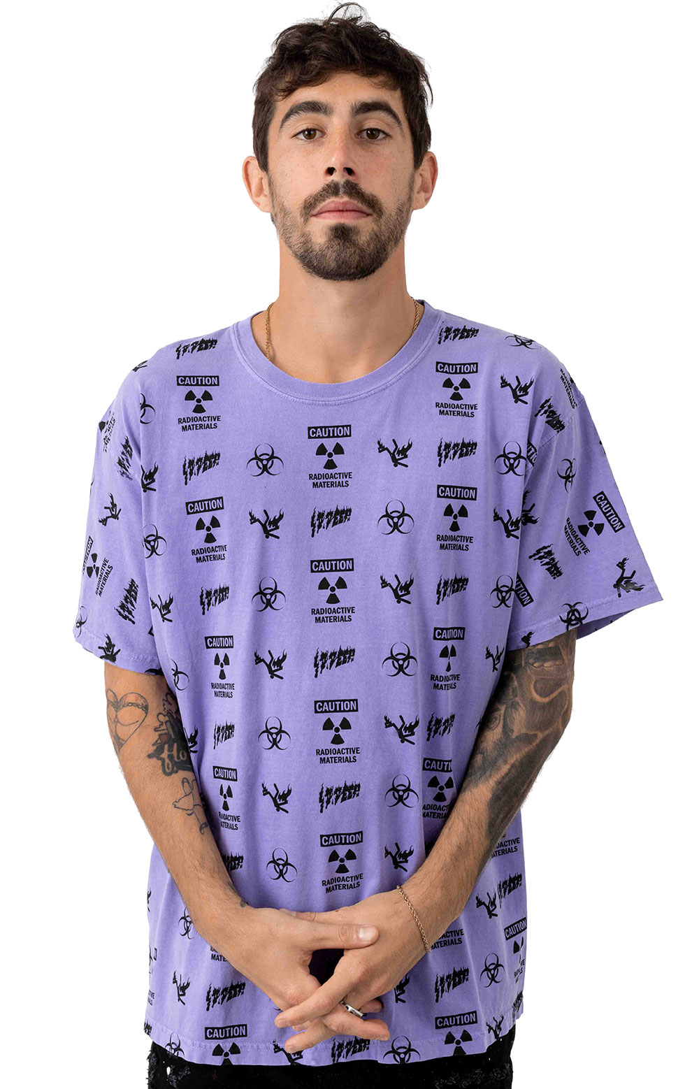 Noxious Fumes T-Shirt - Purple
