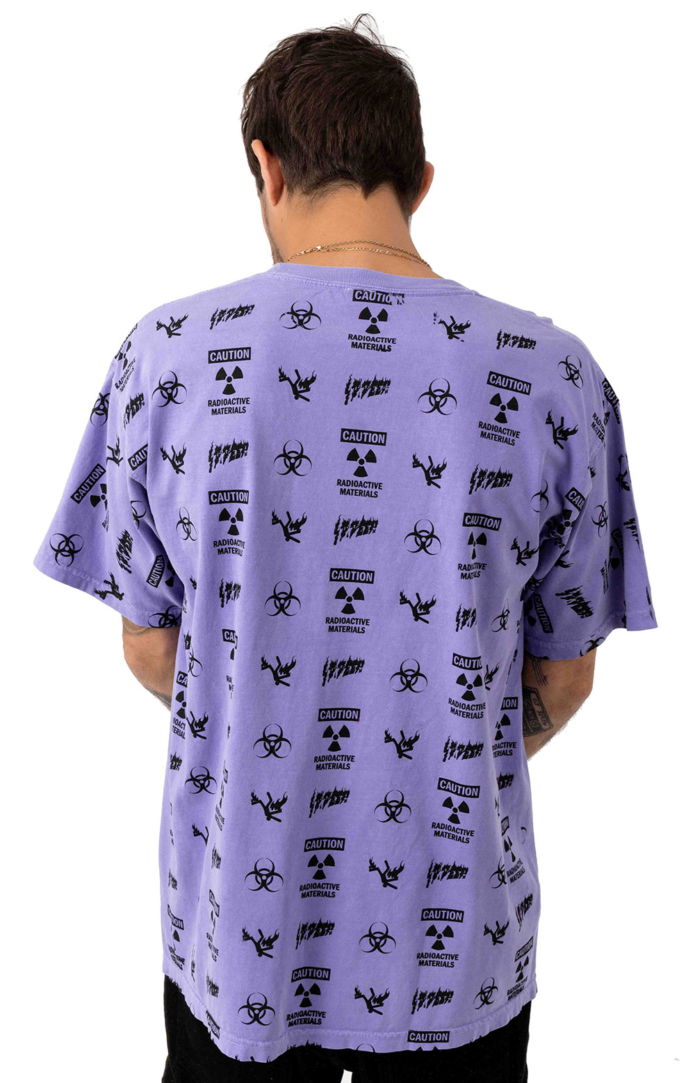 Noxious Fumes T-Shirt - Purple  3