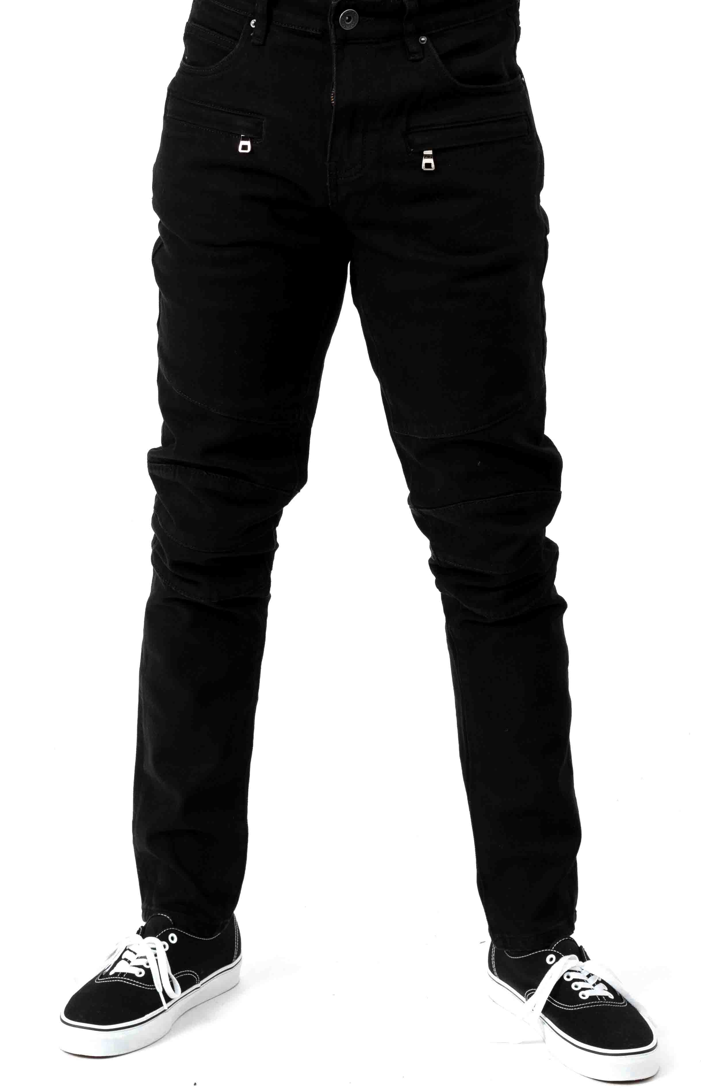 (CRYSPF18-18) Montana Denim Jeans - Black