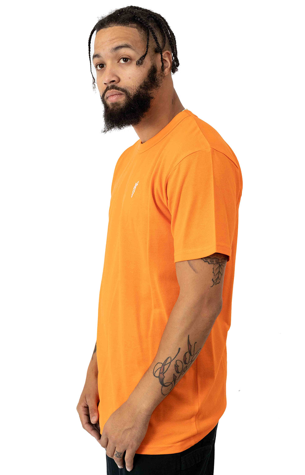 Carrots One Point Knit T-Shirt - Orange  2