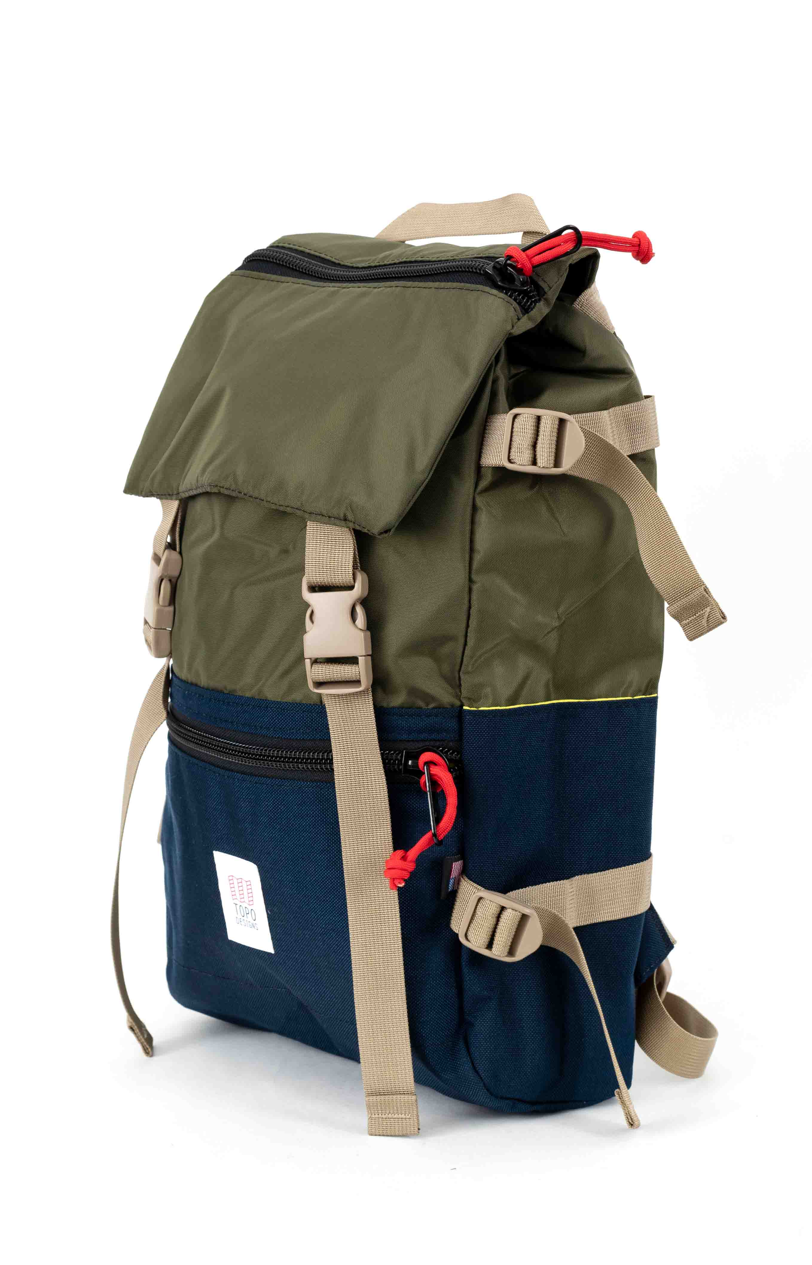 Rover Pack - Olive/Navy 2
