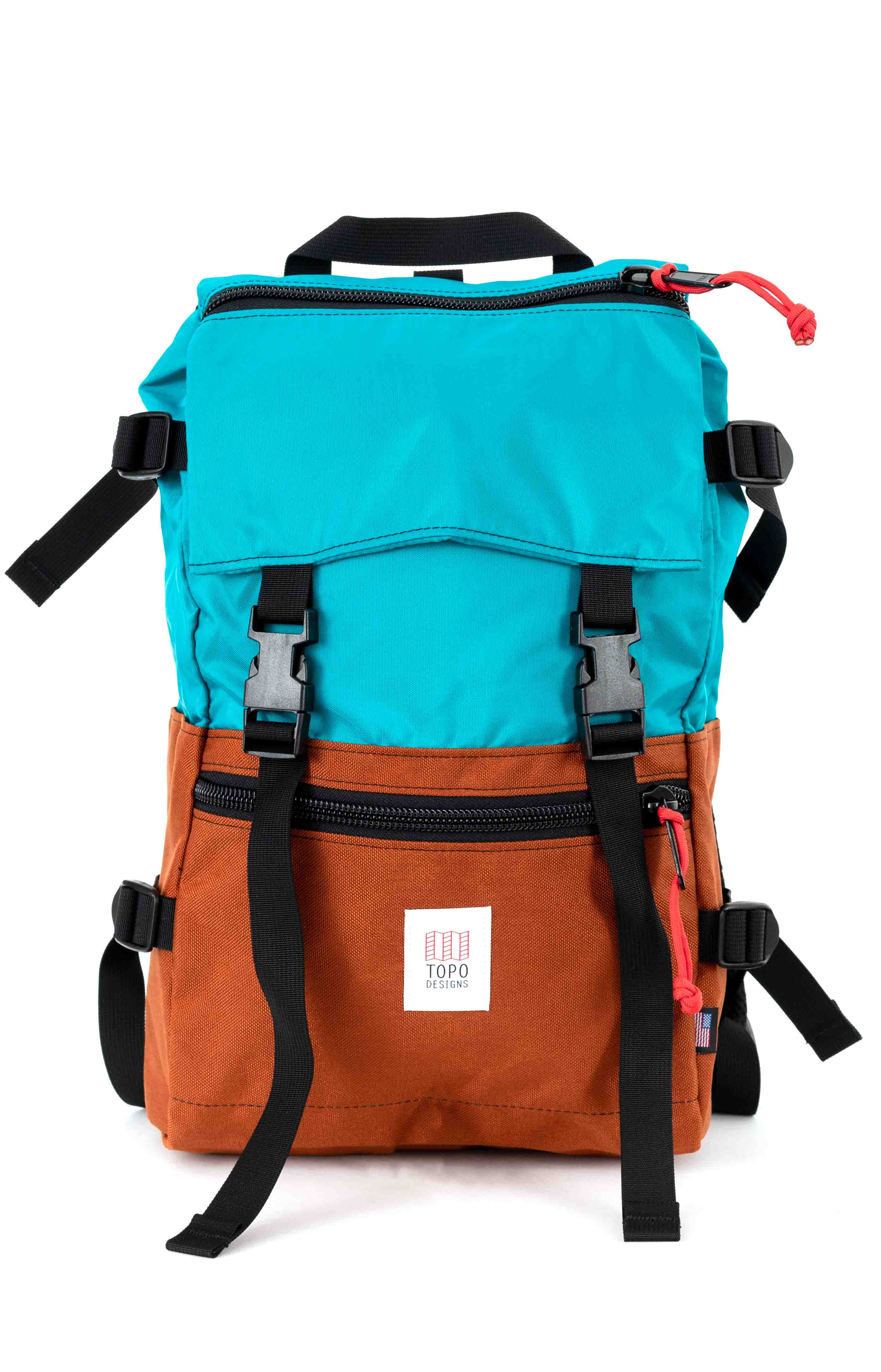Rover Pack - Turquoise/Clay