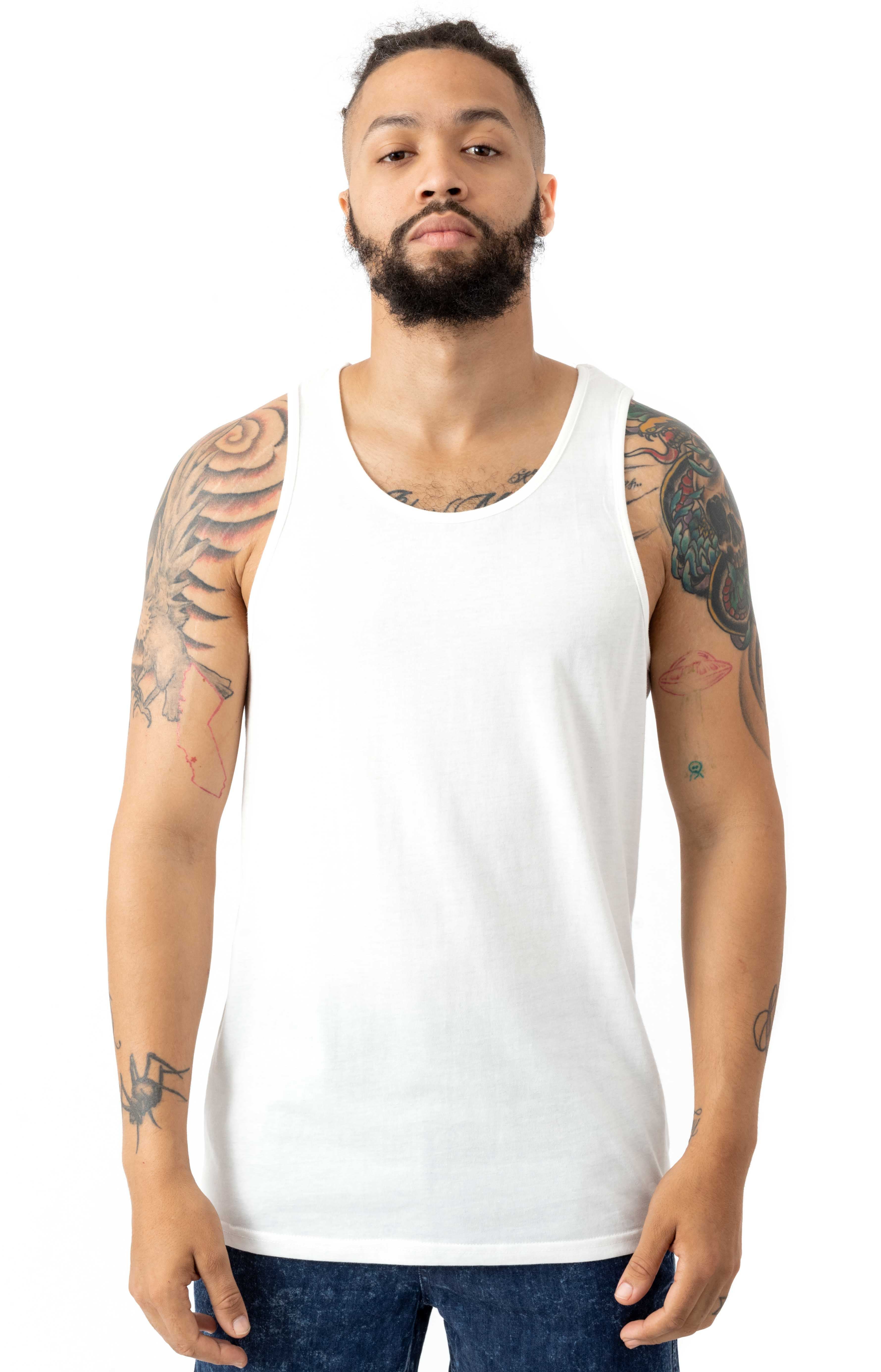 Basic Tank Top - Off White
