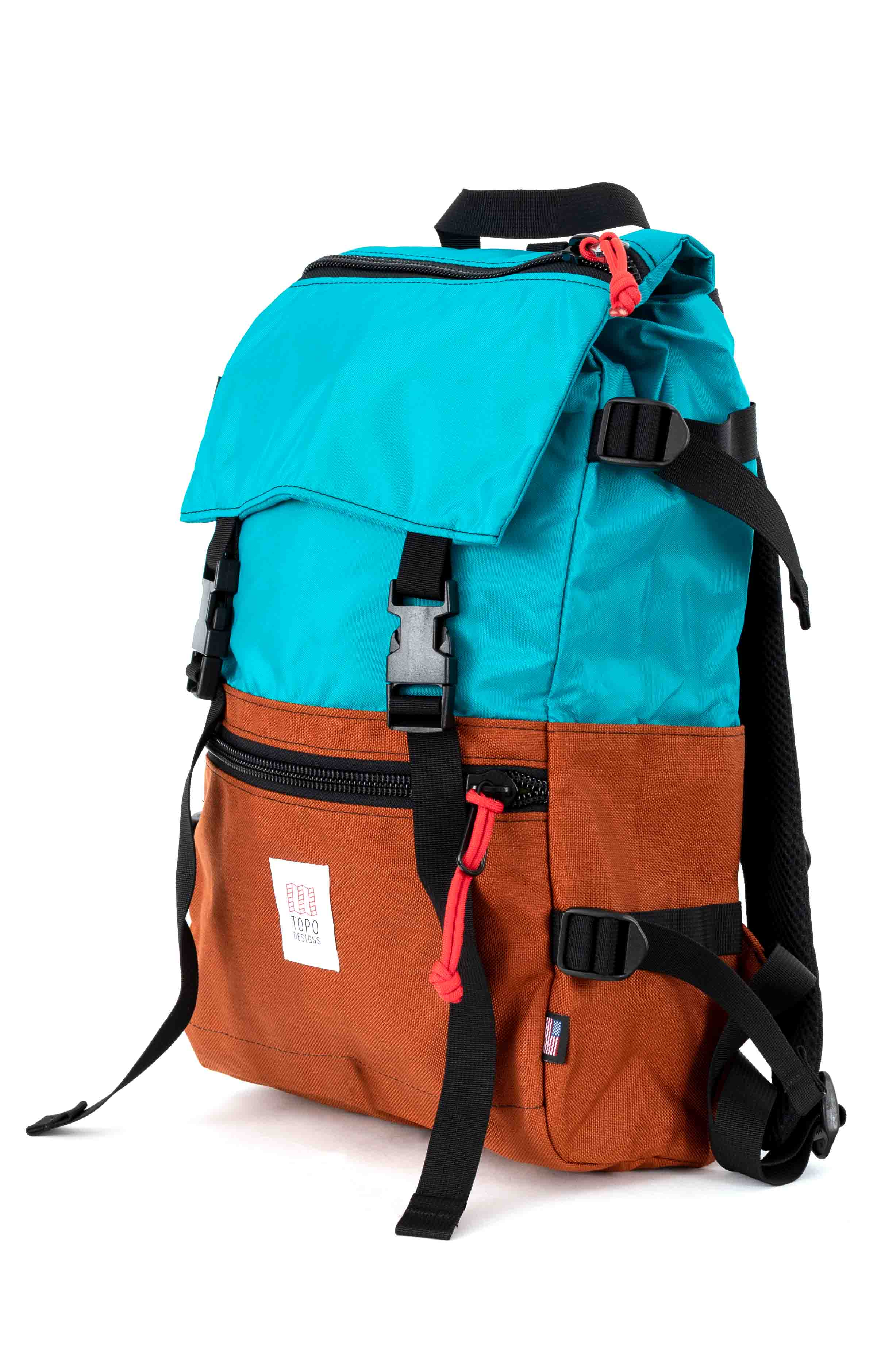 Rover Pack - Turquoise/Clay 2
