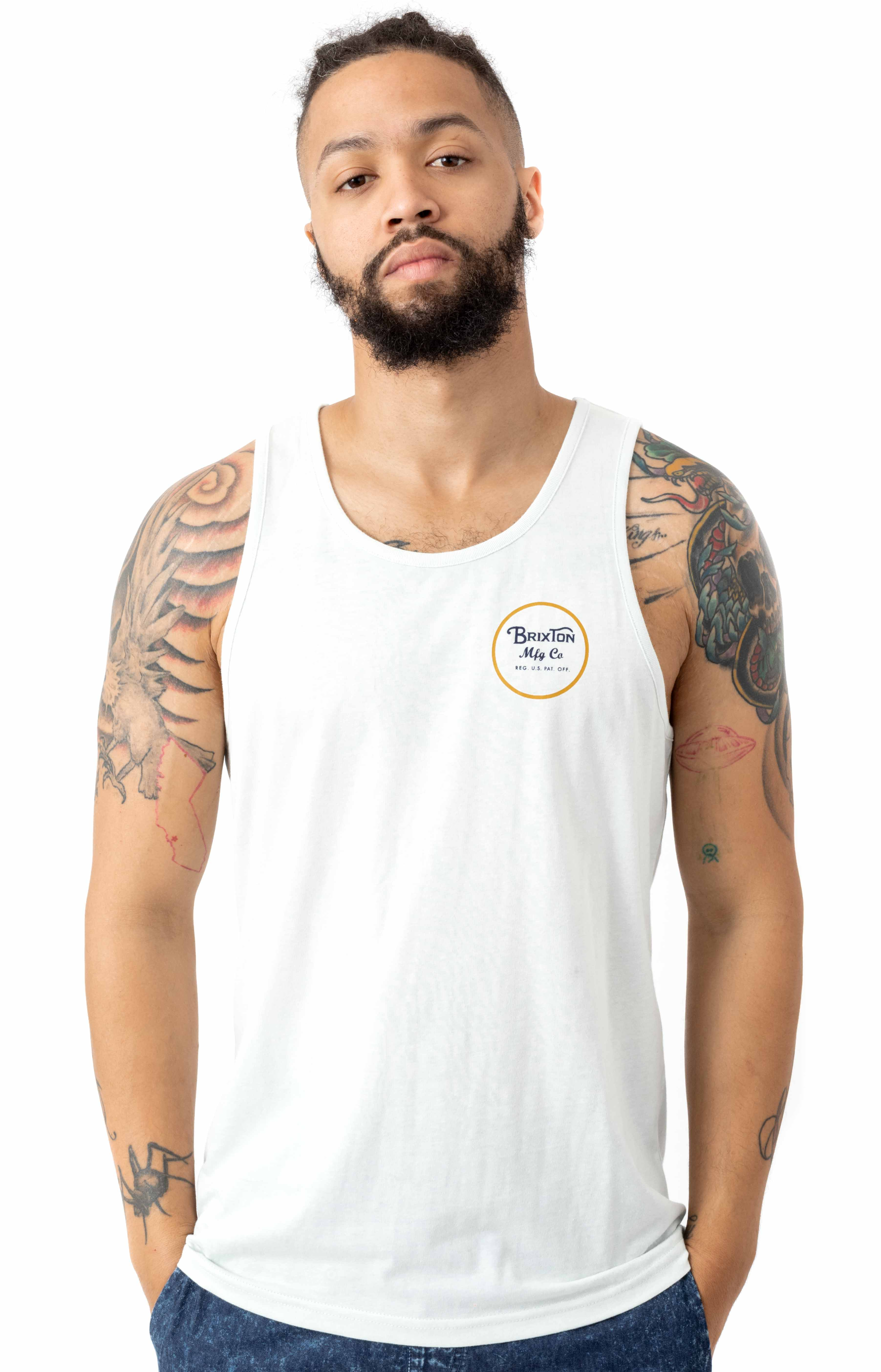 Wheeler Tank Top - Cloud