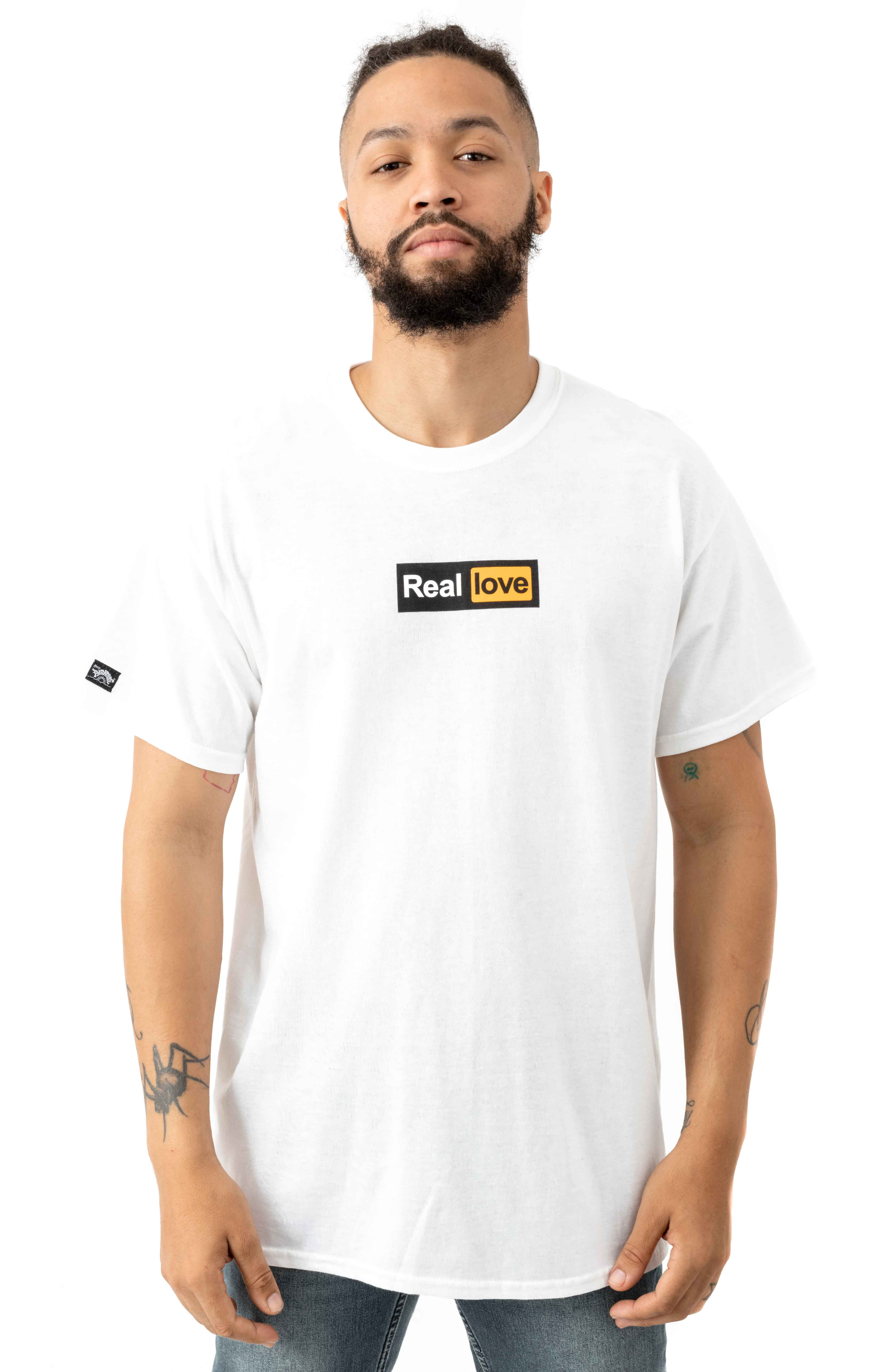Real Love T-Shirt - White