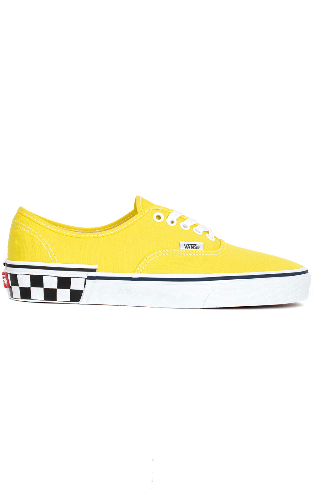(8EMVJS) Check Block Authentic Shoe - Yellow