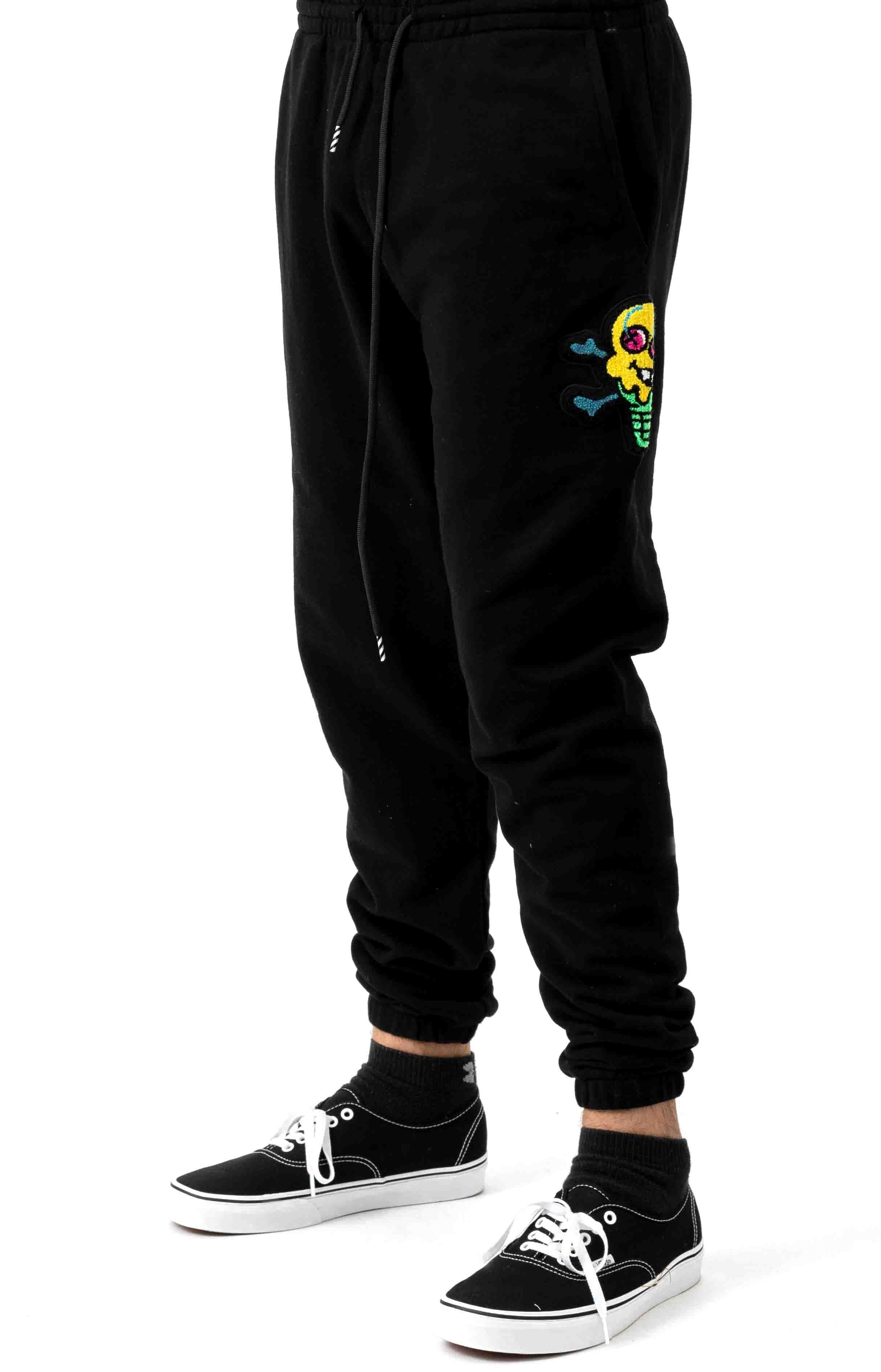 Stacker Sweatpant - Black 1