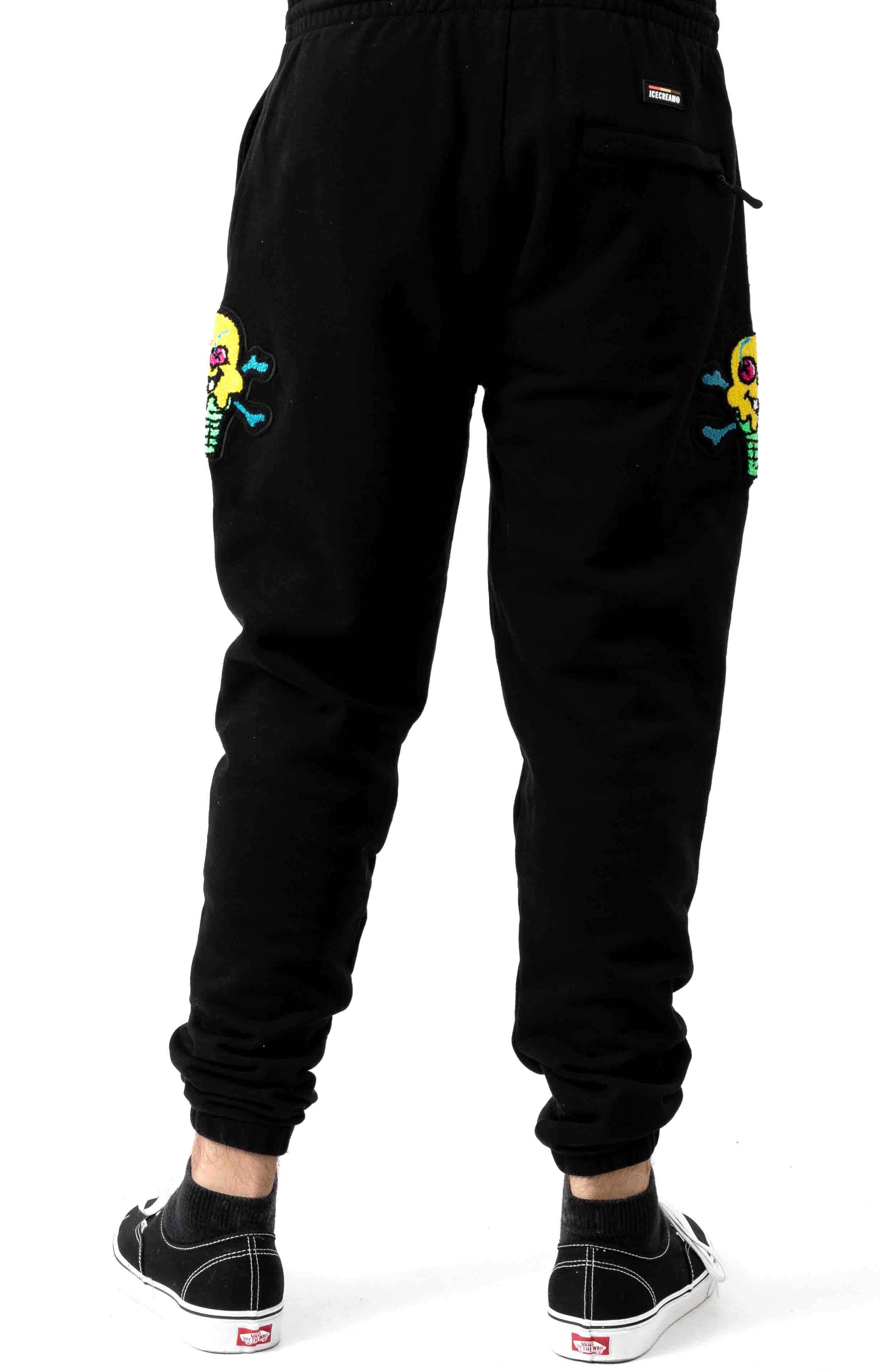 Stacker Sweatpant - Black 3
