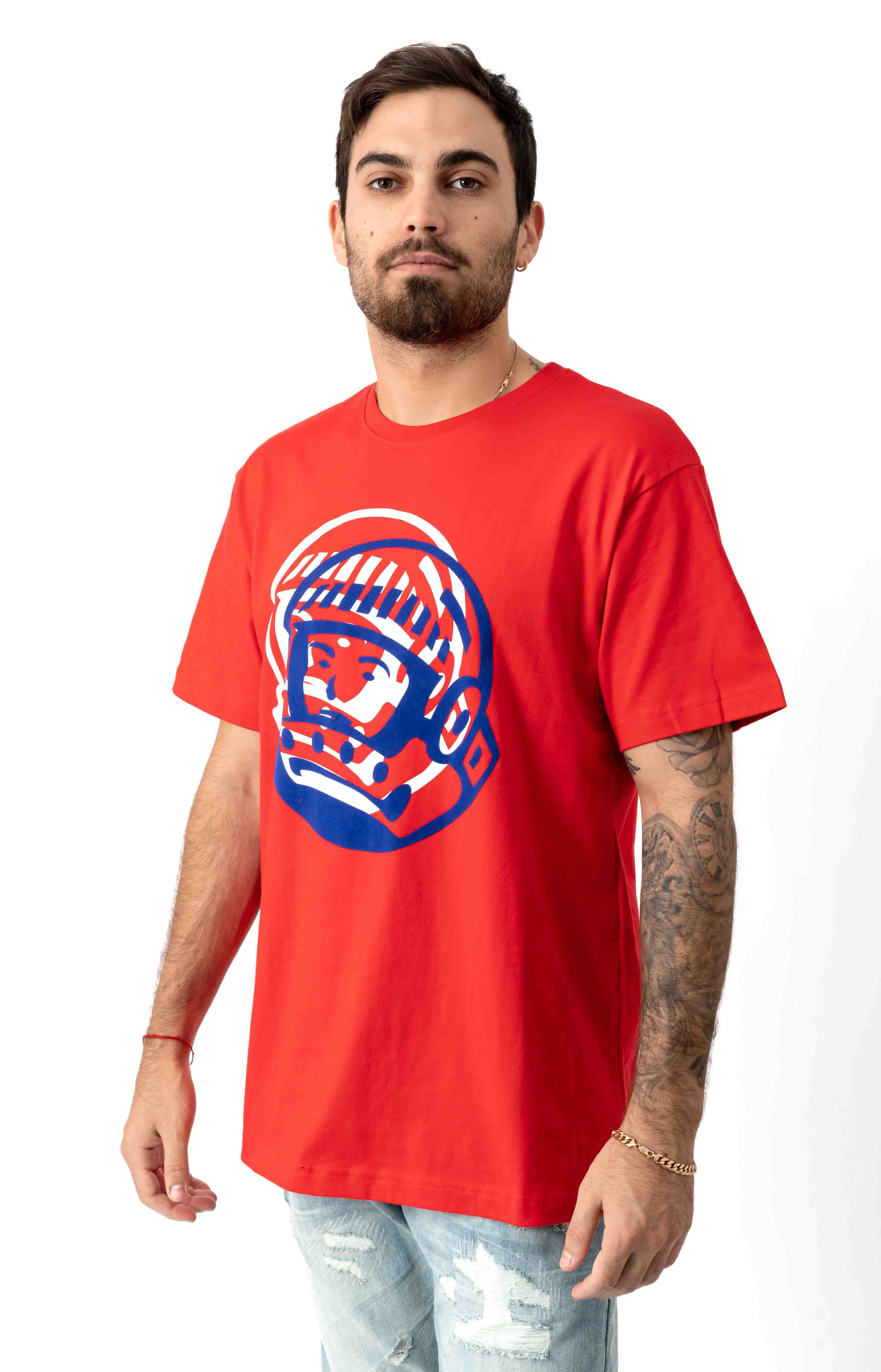 BB Doubleed T-Shirt - High Risk Red