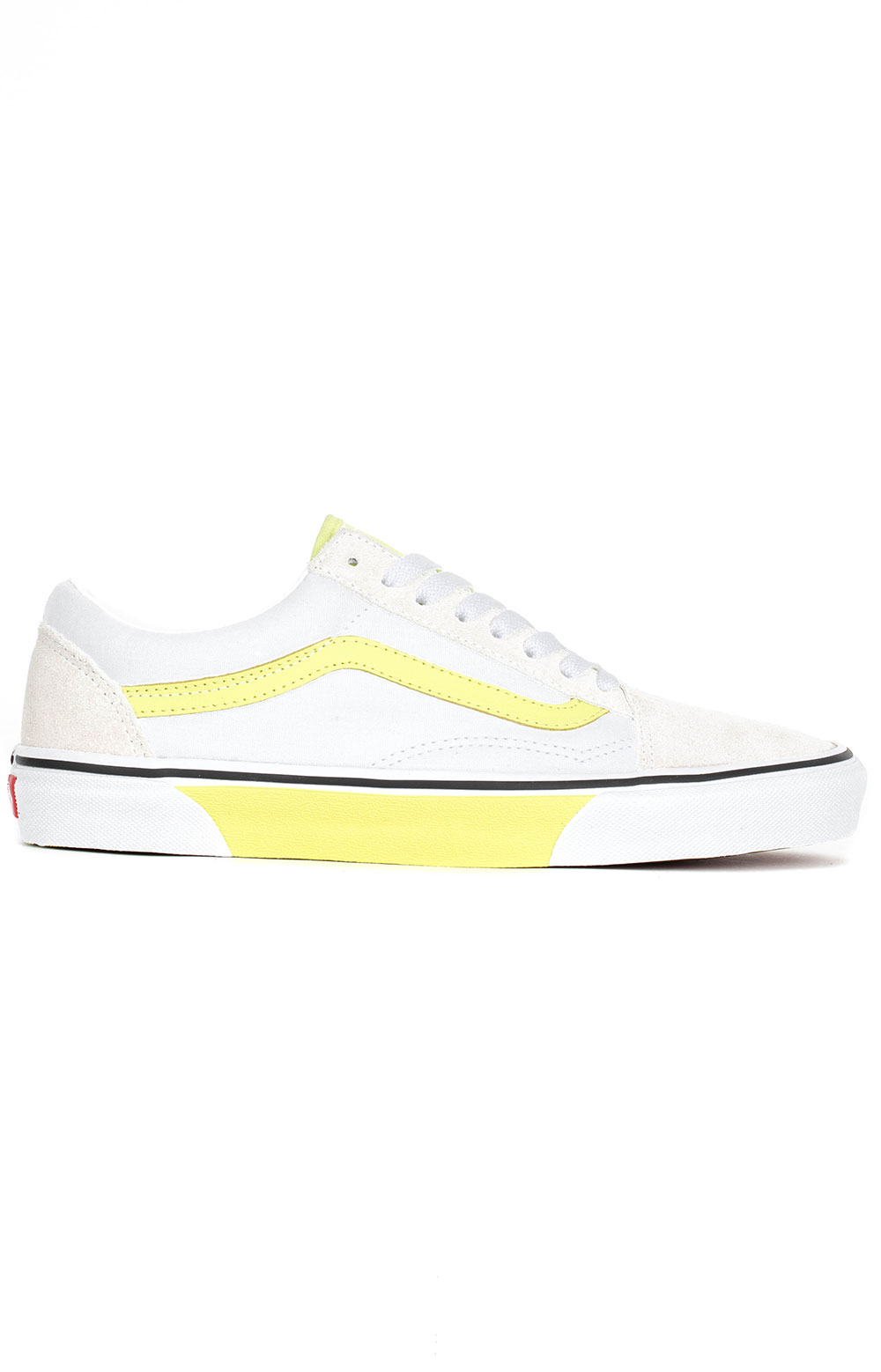 (8G1VR3) Color Block Old Skool Shoe - Yellow