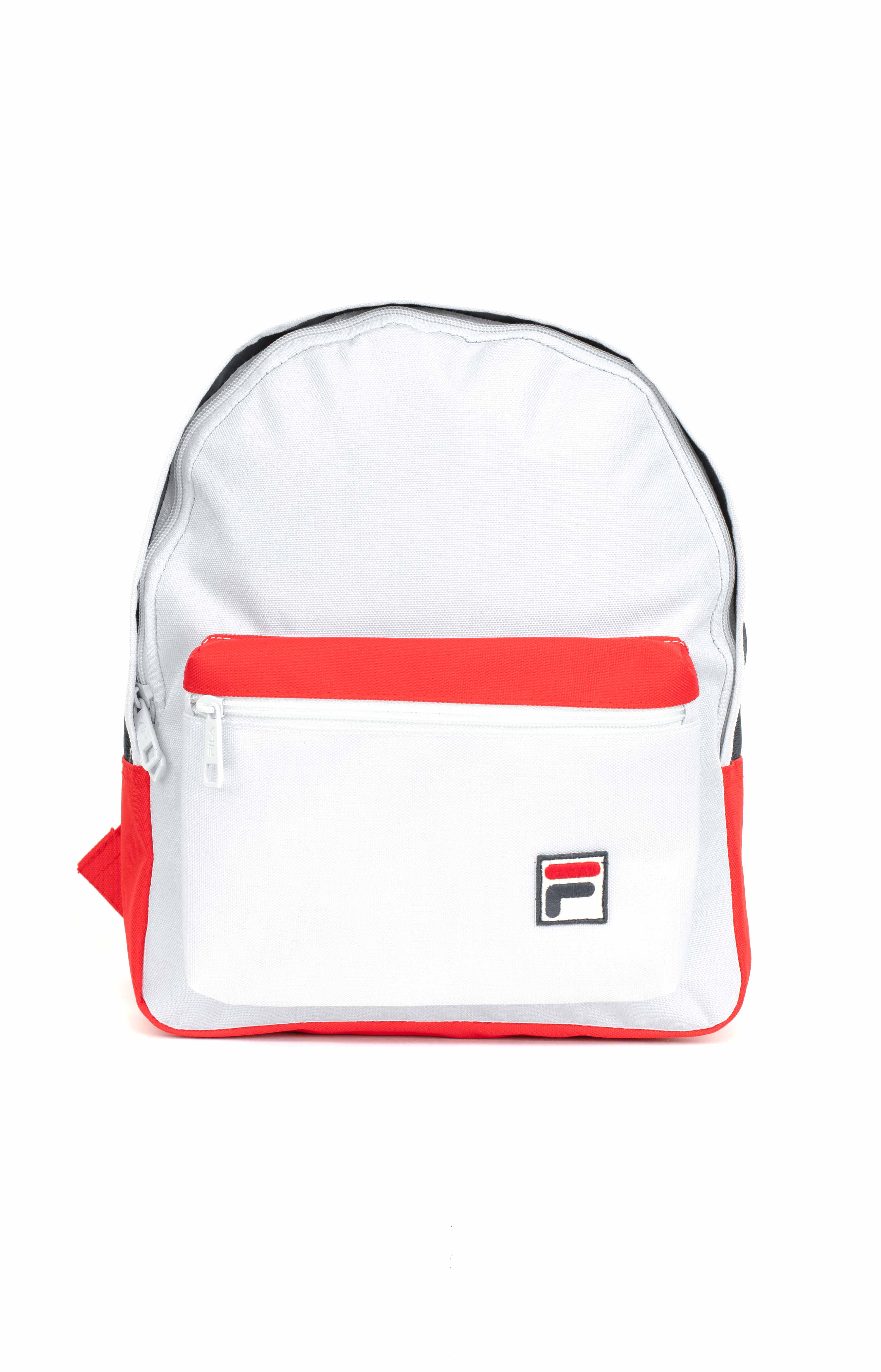 Mini Backpack - White