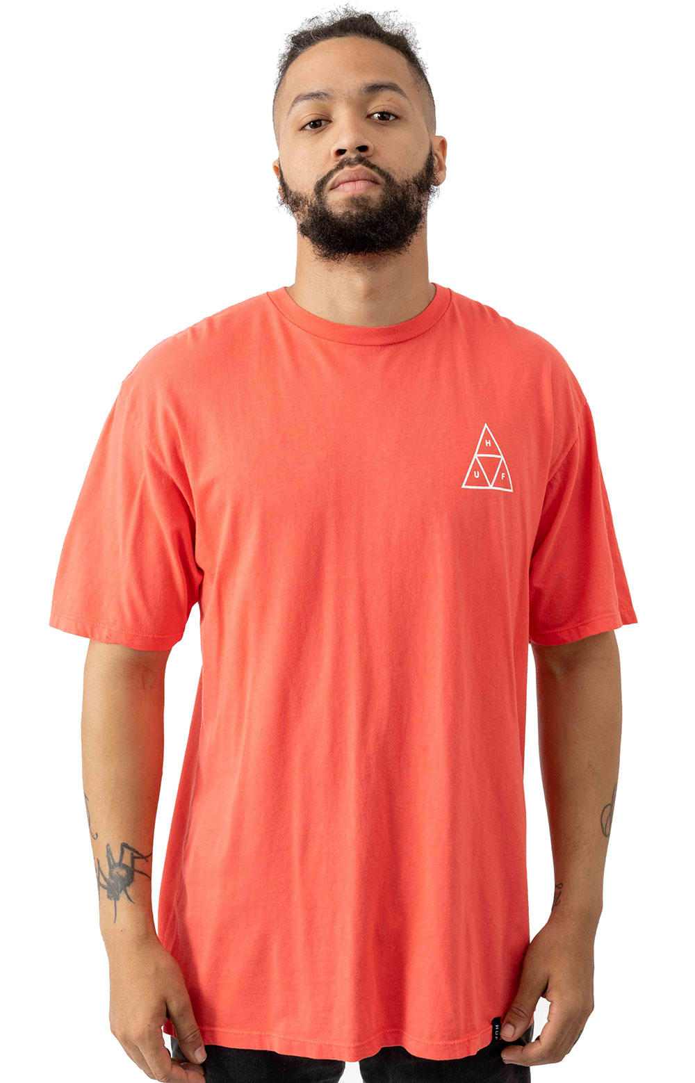 Space Beach TT T-Shirt - Cayenne