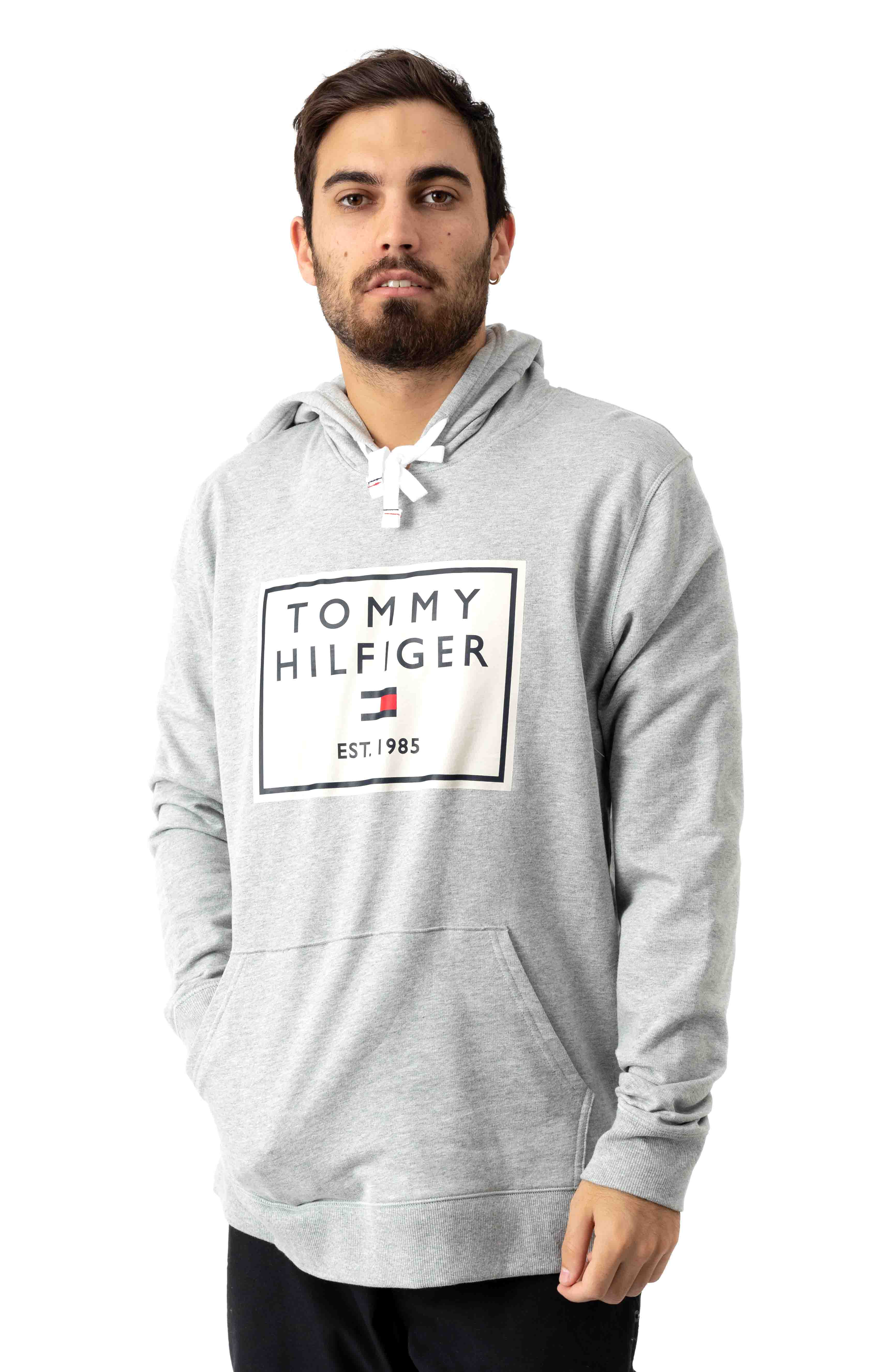 Icon Pullover Hoodie - Grey