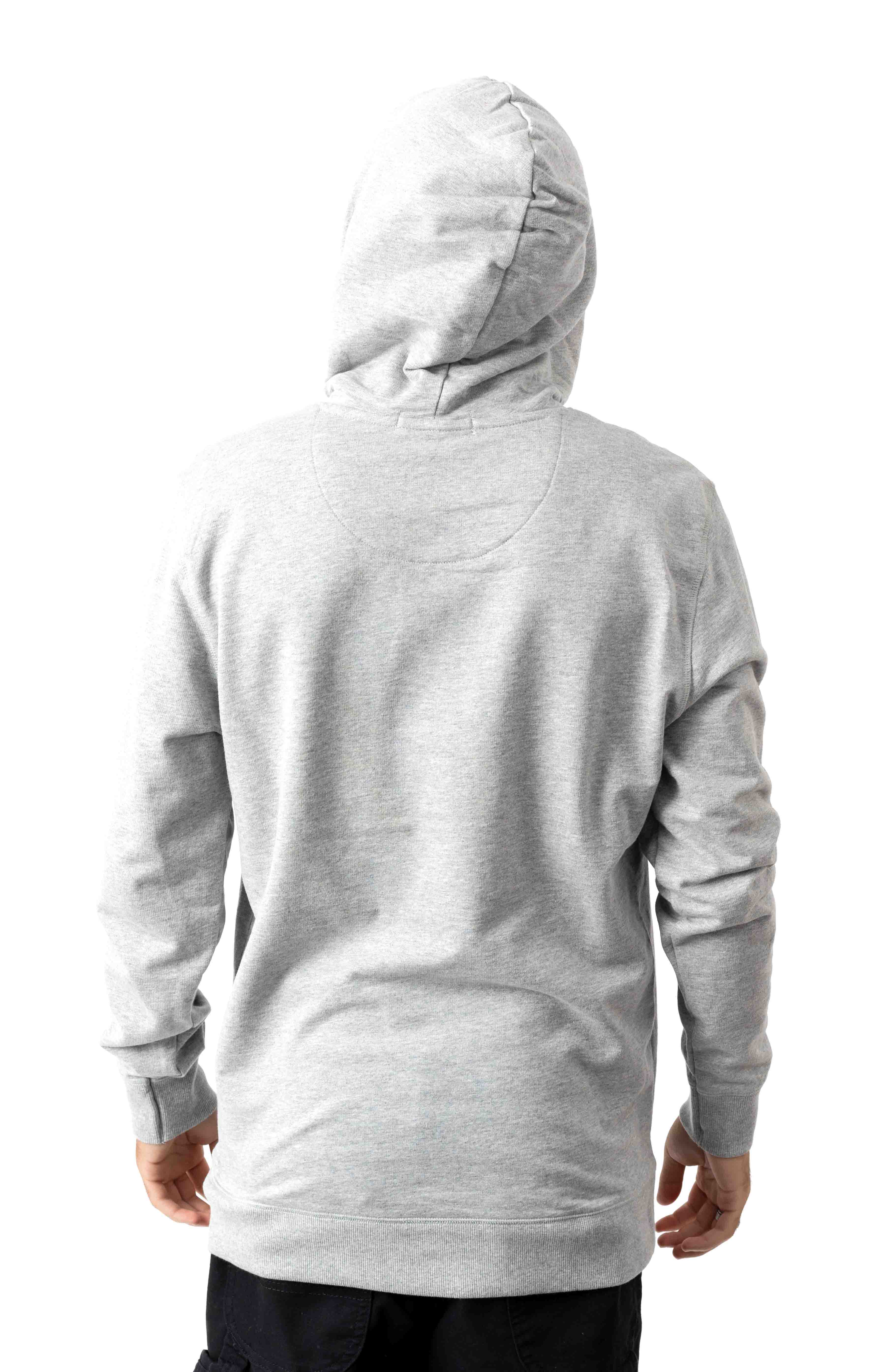 Icon Pullover Hoodie - Grey 3