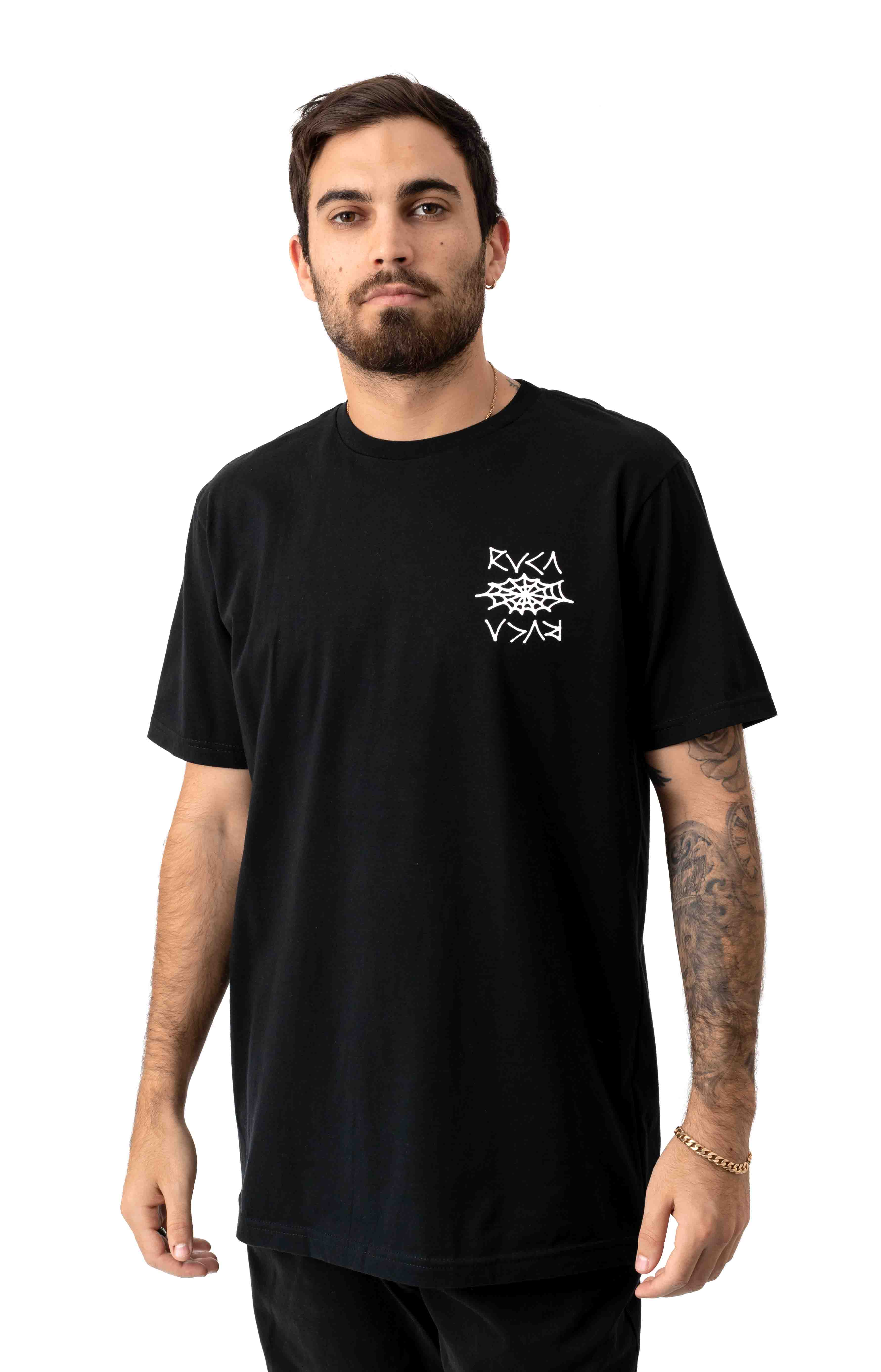 Cobbwebs T-Shirt - Black
