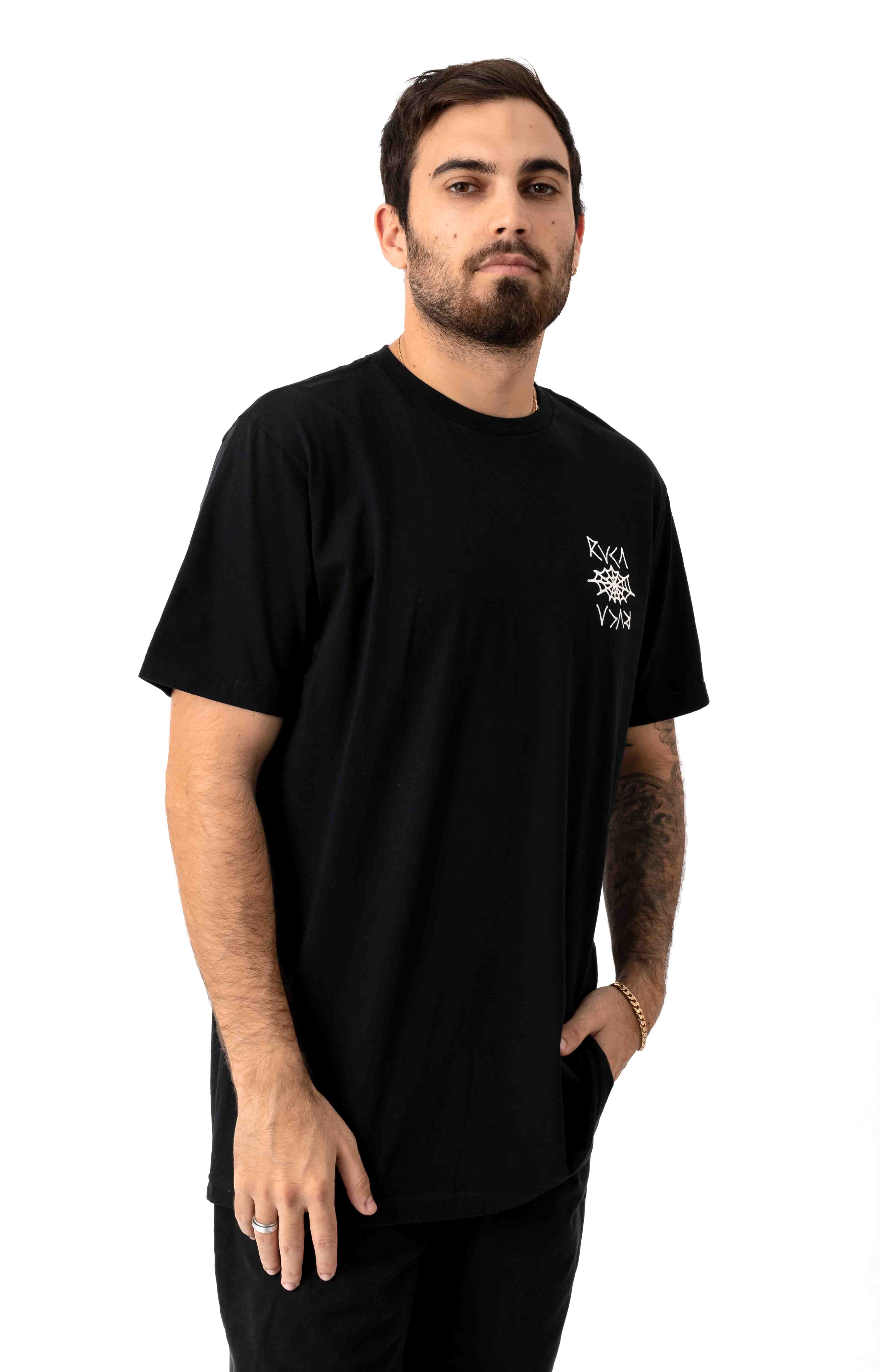 Cobbwebs T-Shirt - Black 2