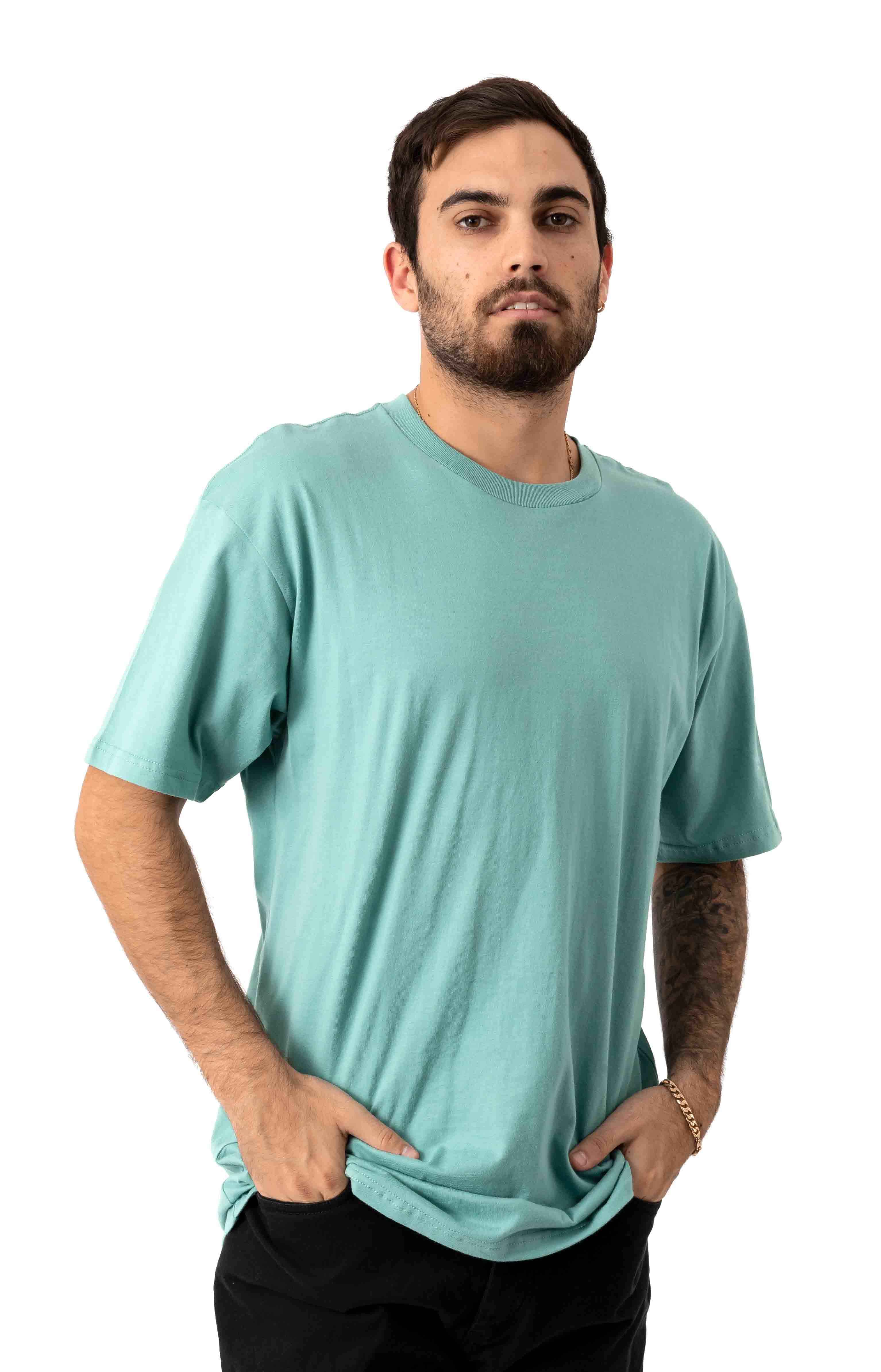 Elevated T-Shirt - Oil Blue 2