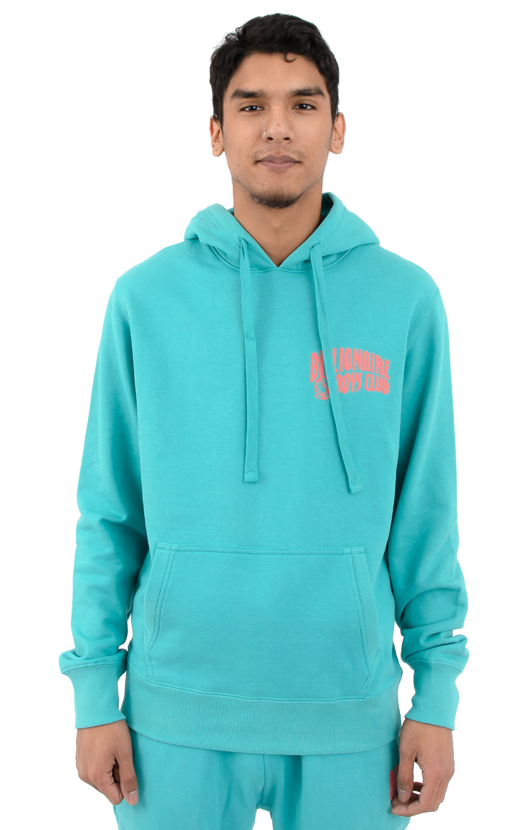 BB Arch Pullover Hoodie - Baltic