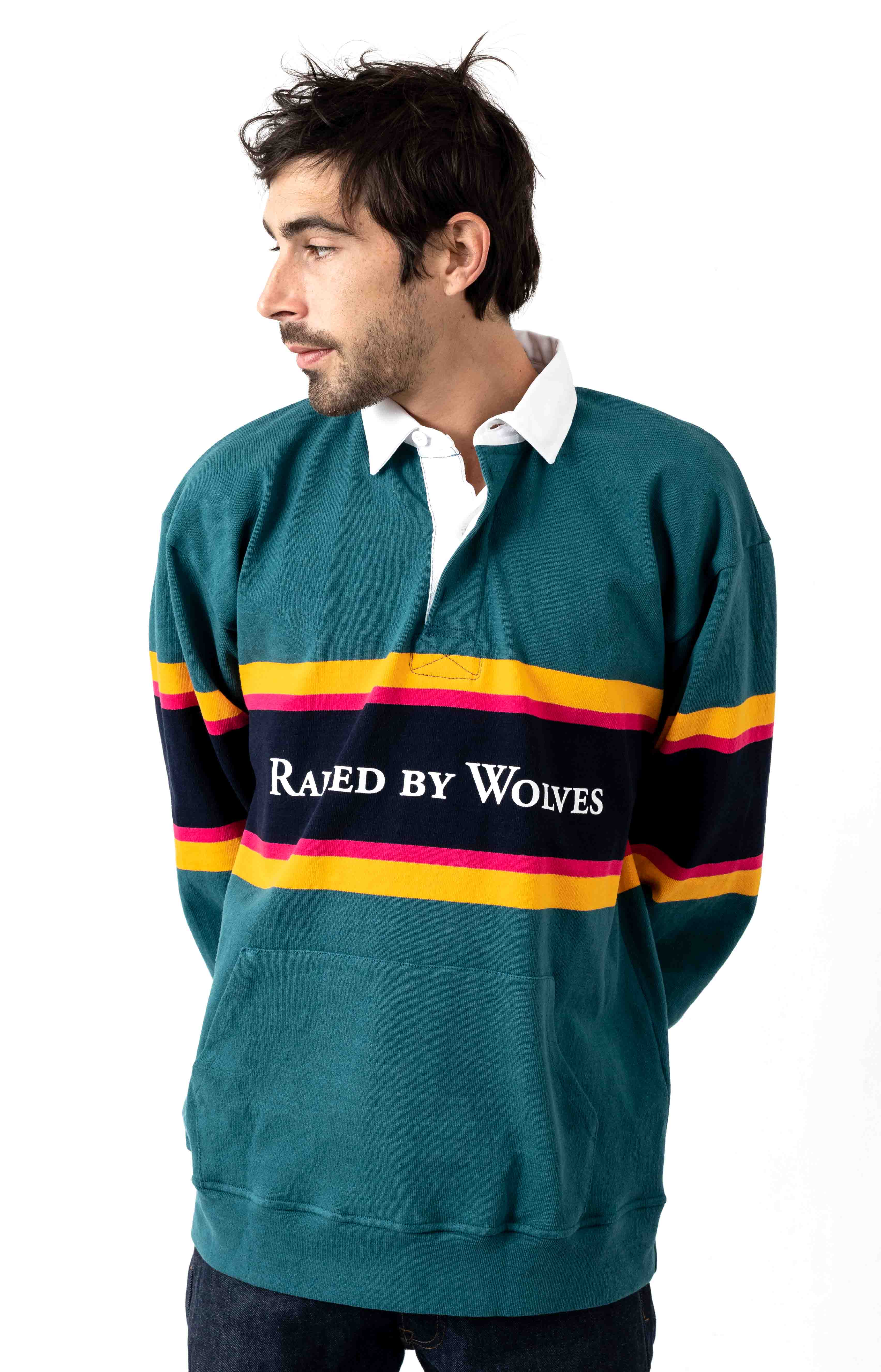 Barbarian Rugby Sweater - Teal