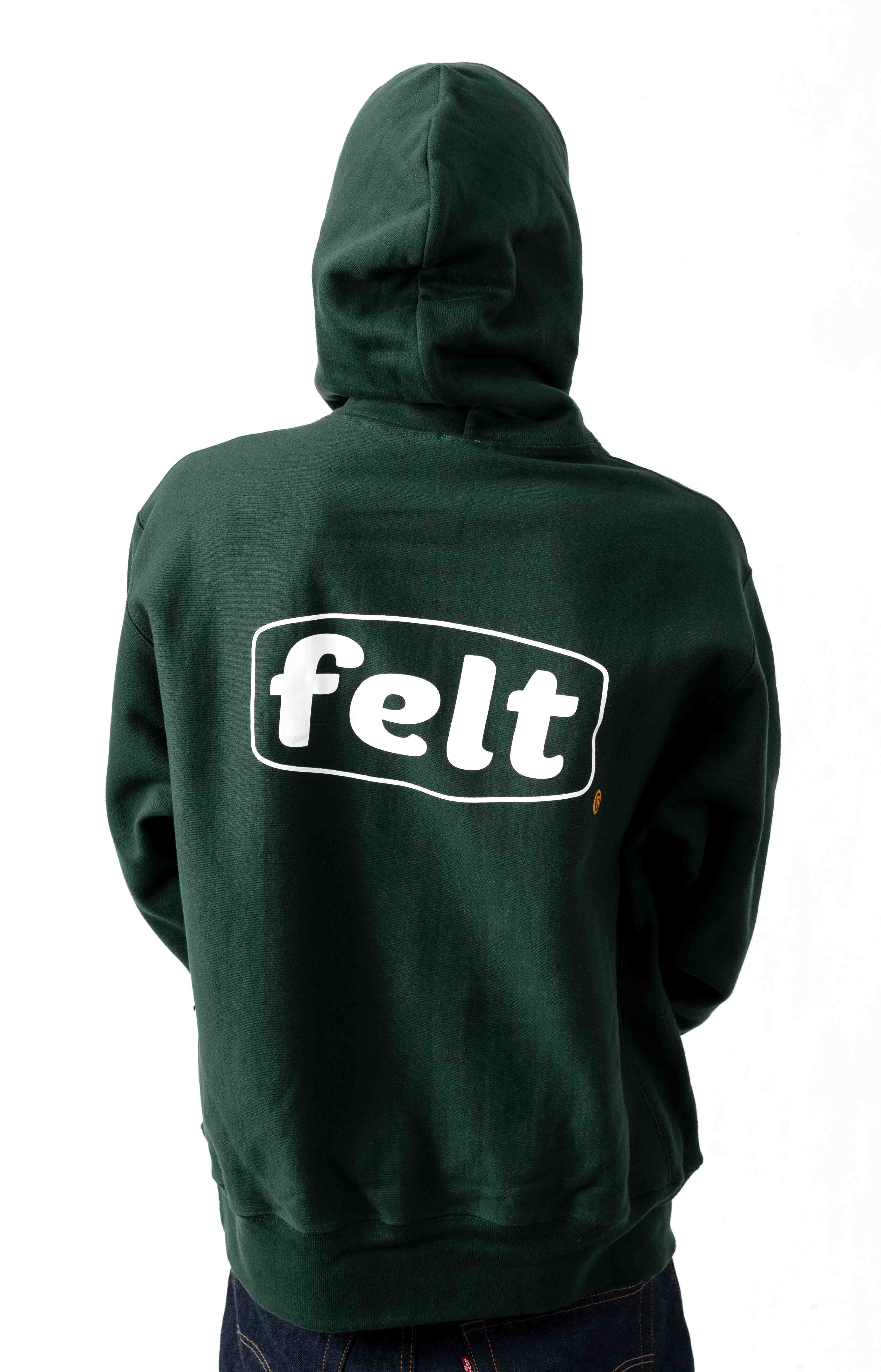 Work Logo Pullover Hoodie - Forest
