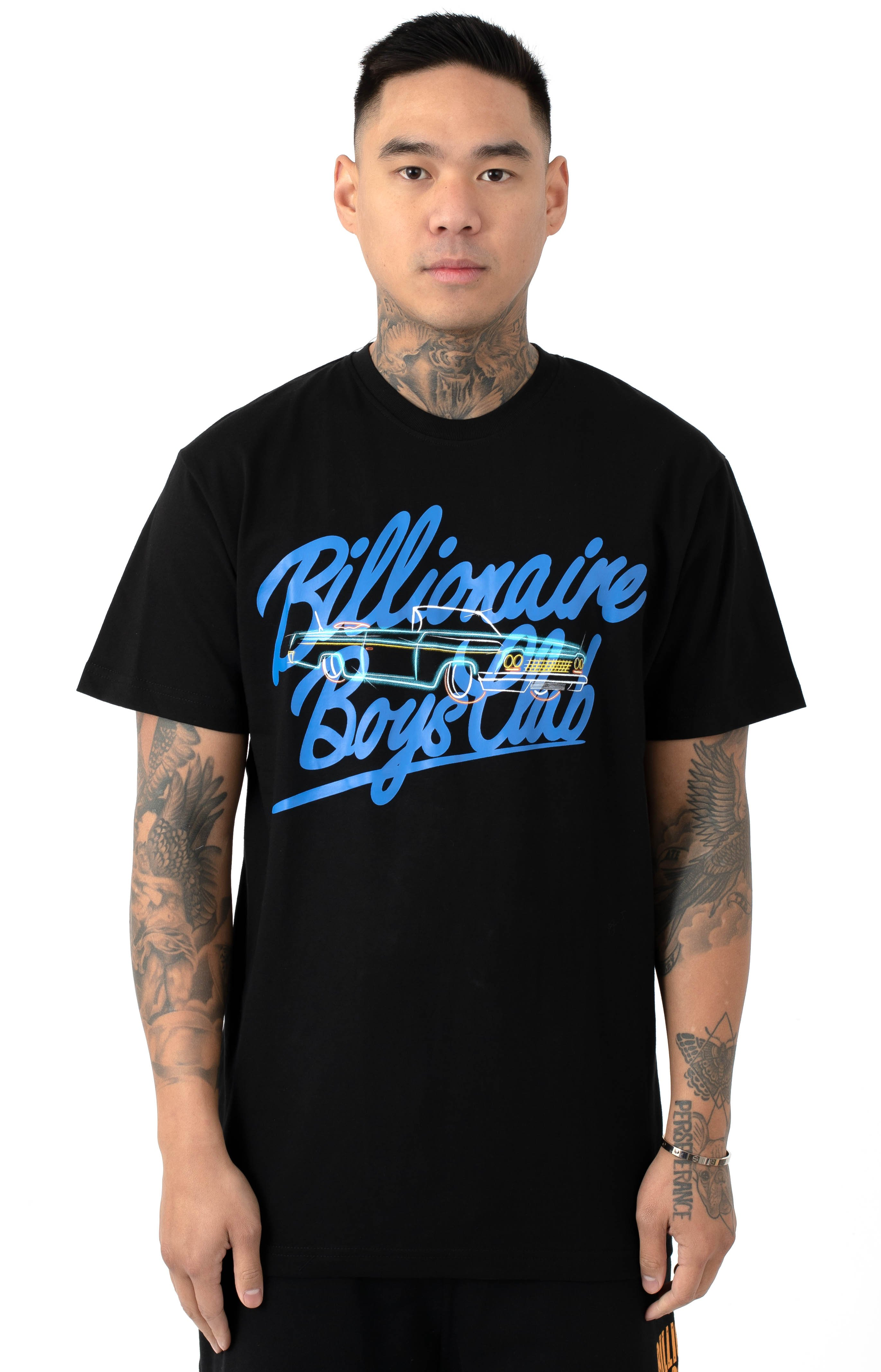 Billionaire Boys Club, BB Neon Ride T-Shirt - Black