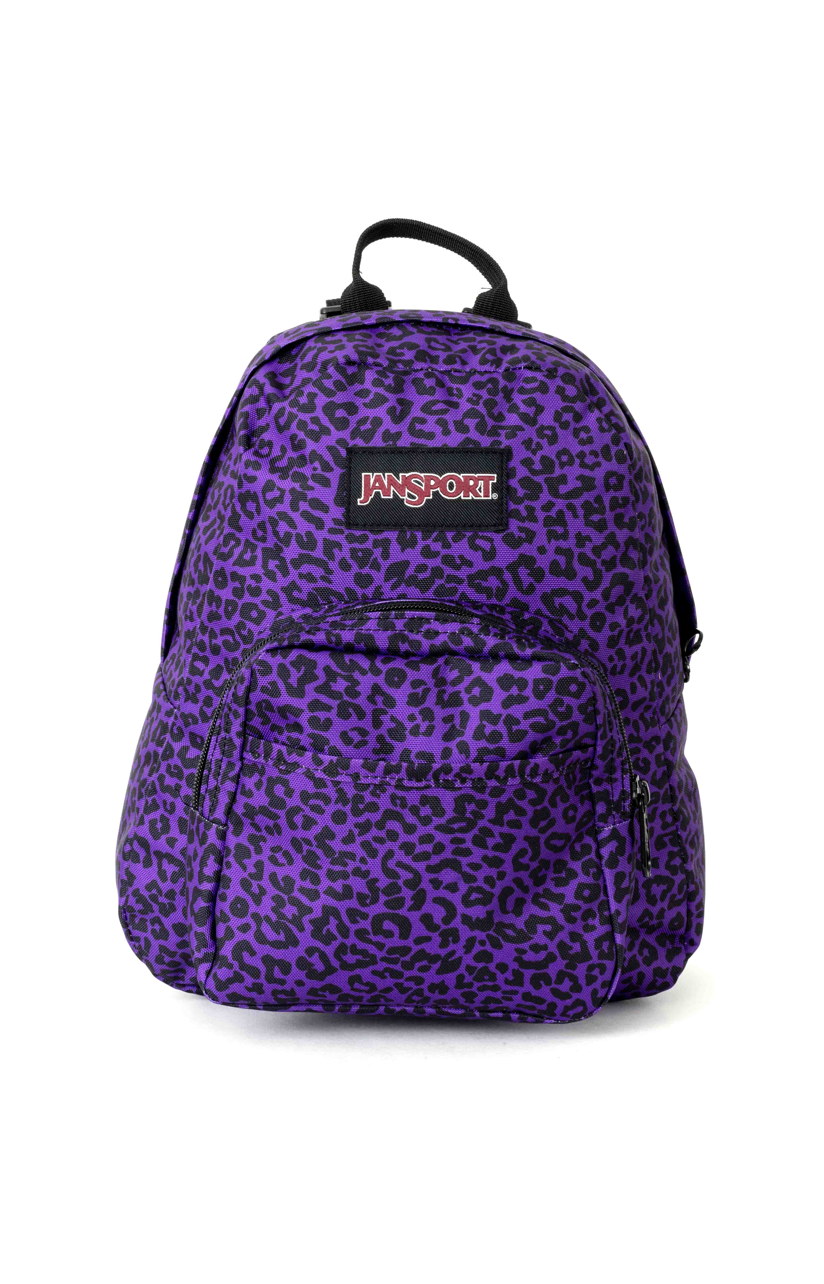 Half Pint Mini Backpack - Purple Leopard Life