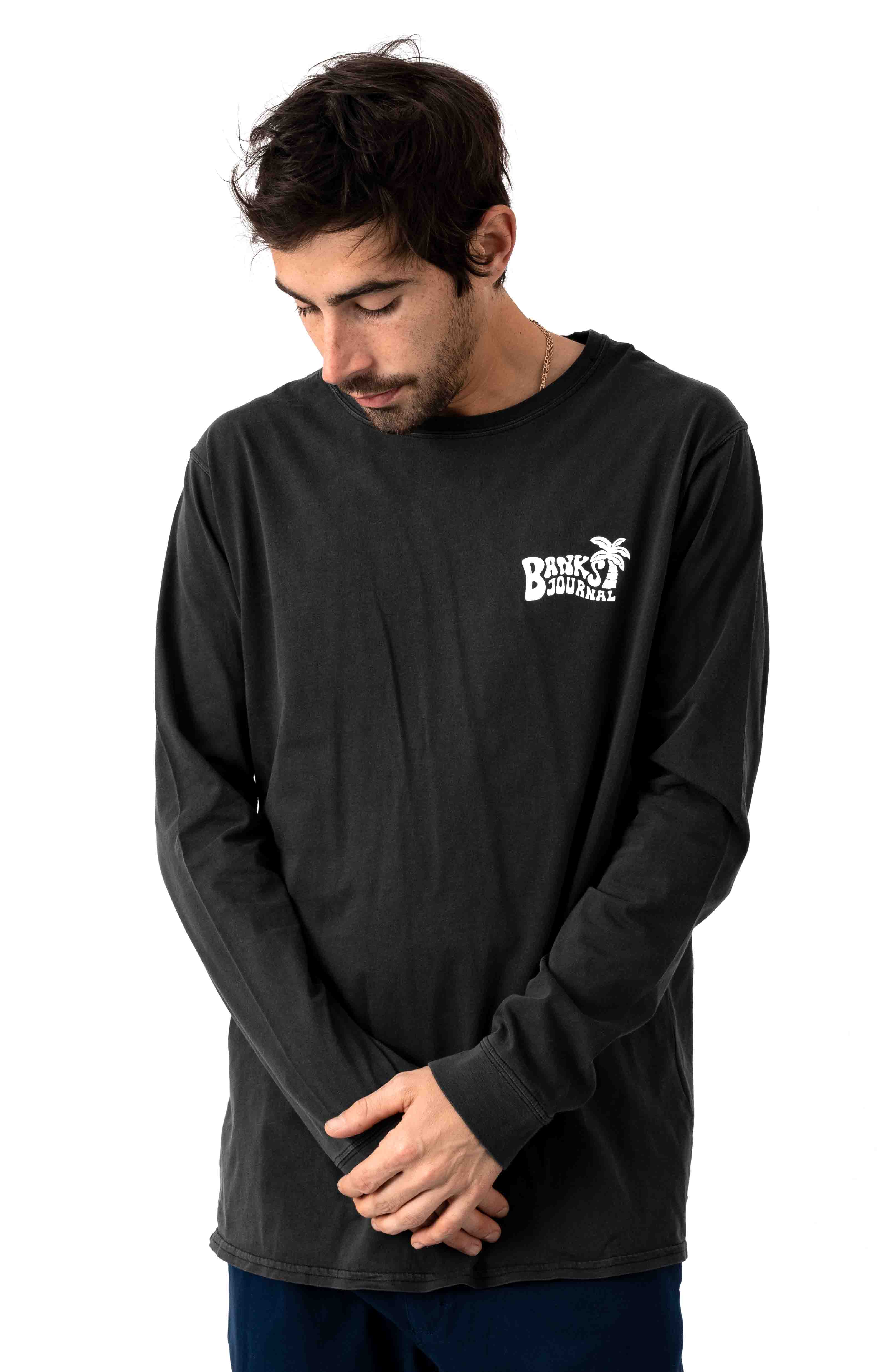 Relevent L/S Shirt - Dirty Black