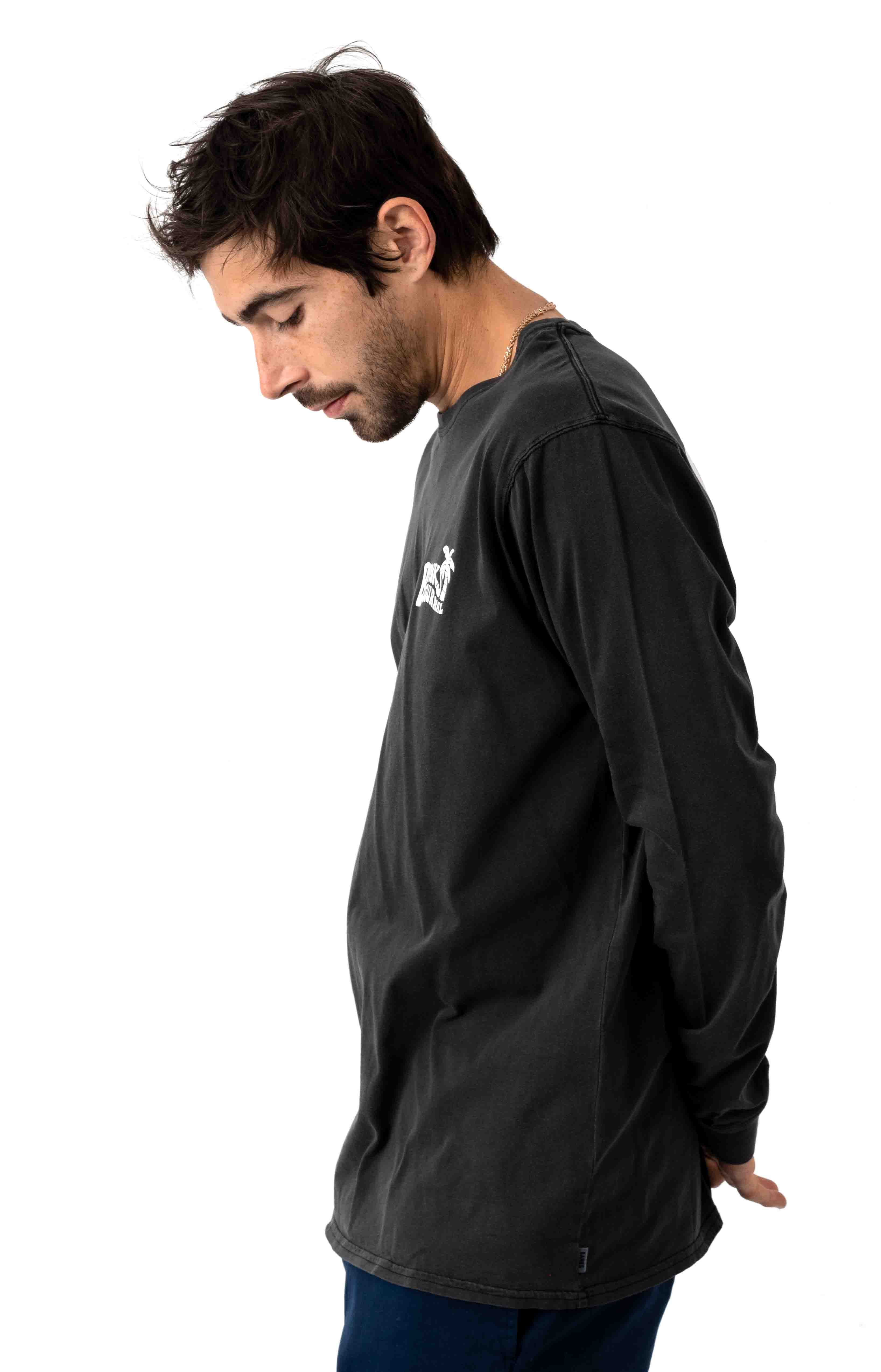 Relevent L/S Shirt - Dirty Black 2