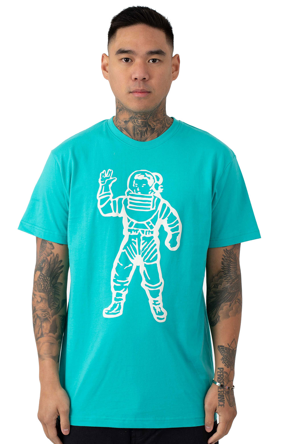 BB Puff Astronaut T-Shirt - Baltic