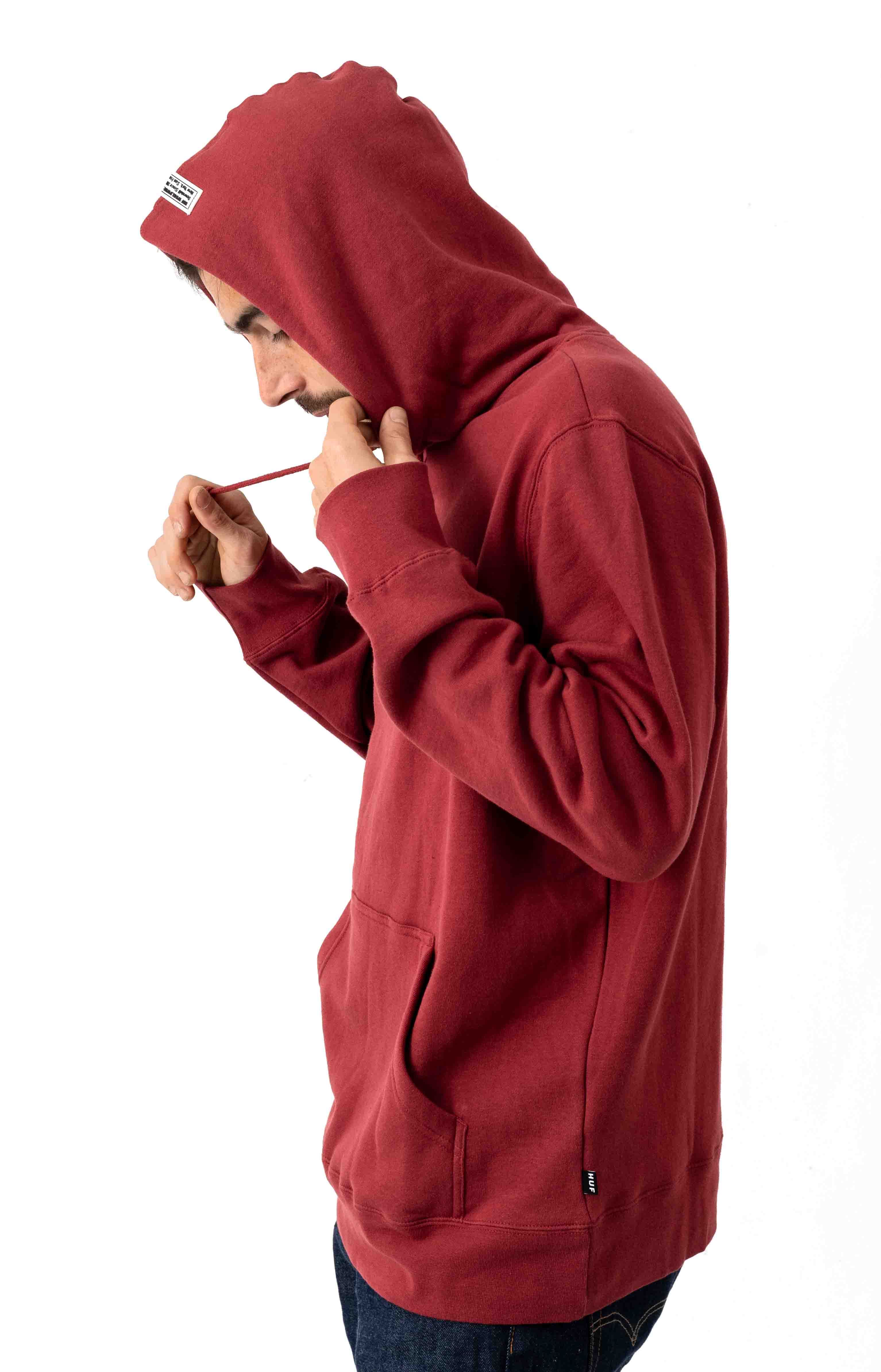 Burn Fast Pullover Hoodie - Red Pear  2