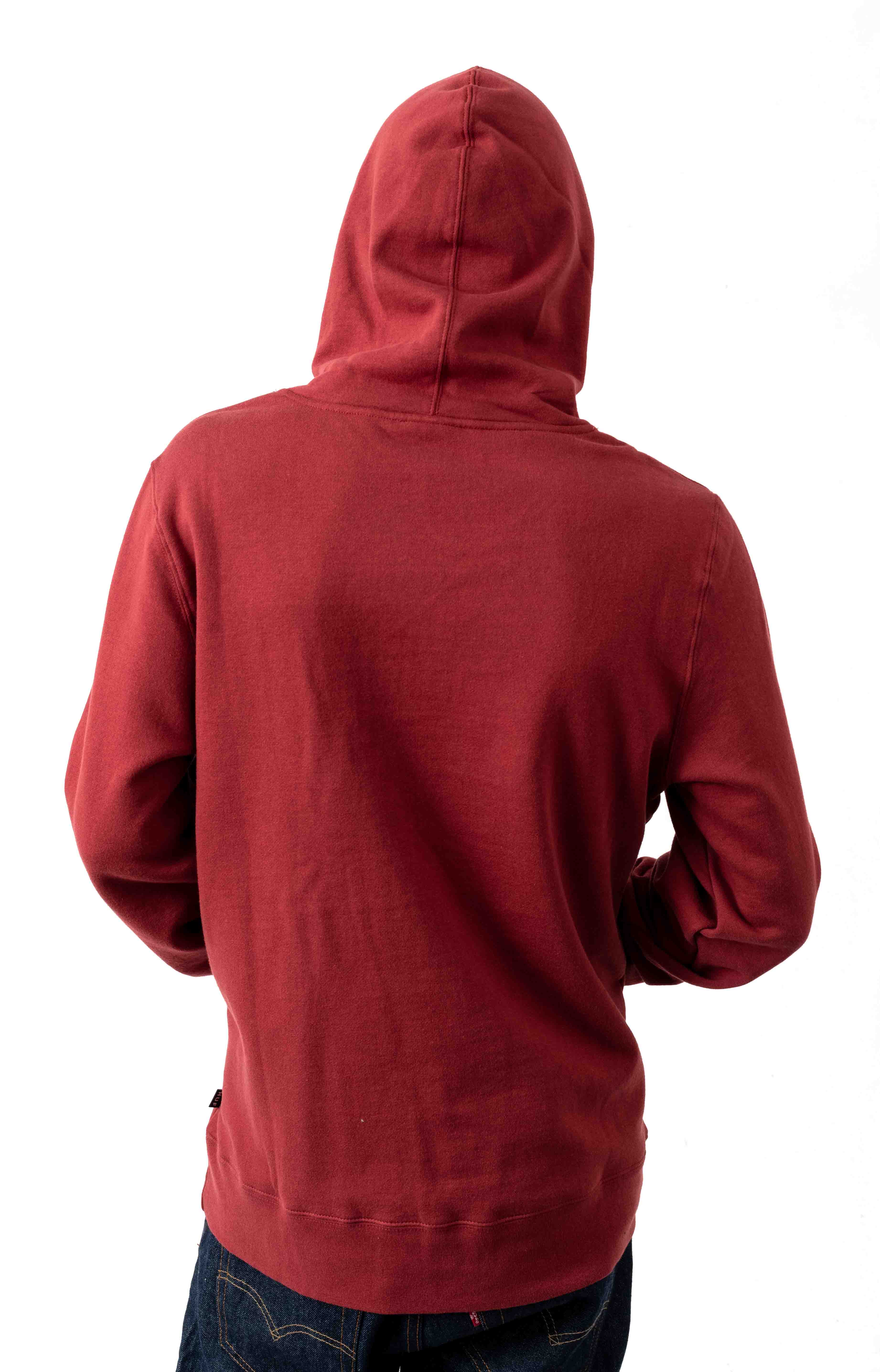 Burn Fast Pullover Hoodie - Red Pear  3
