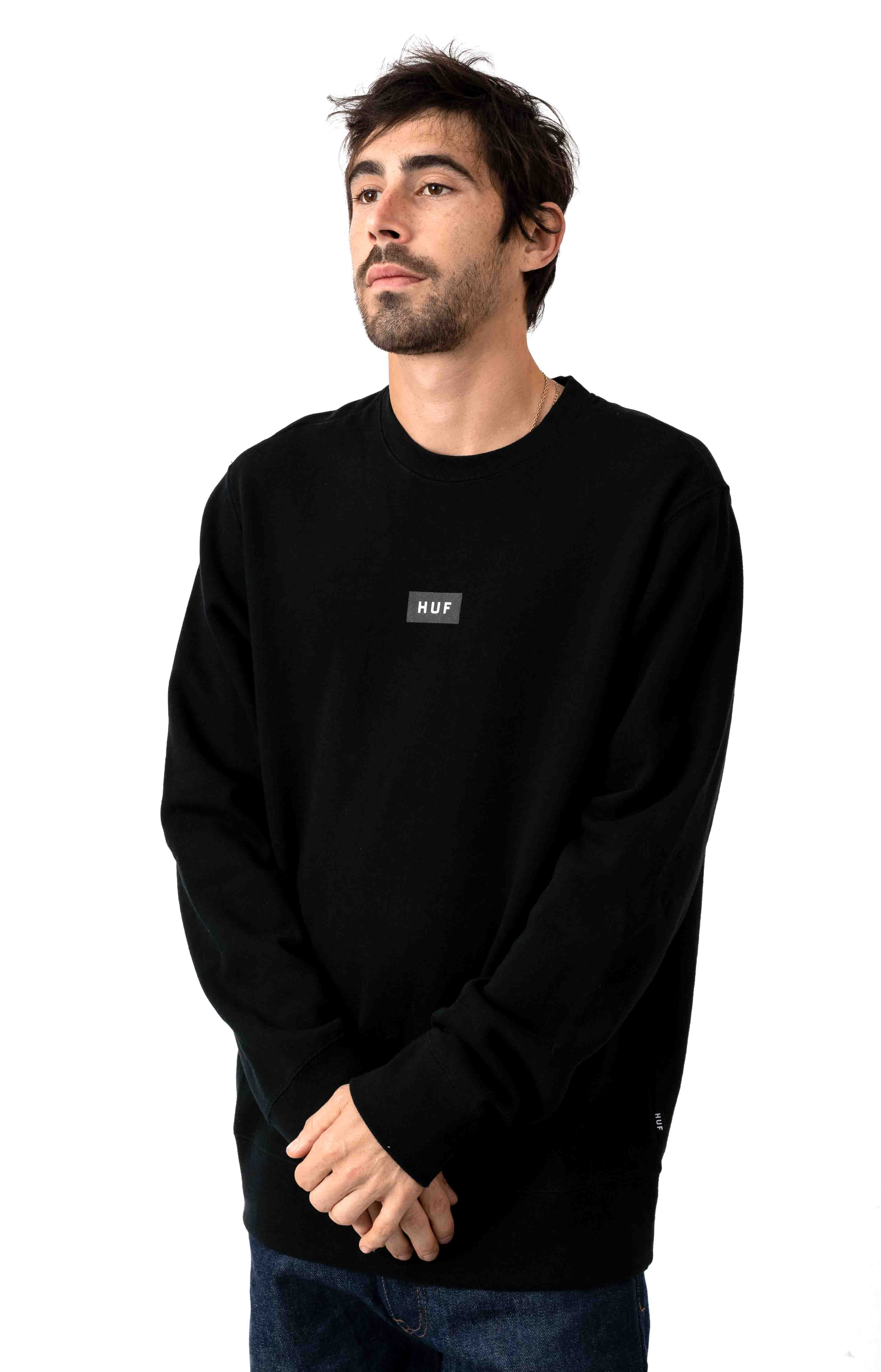 Strawberry Fields Crewneck - Black