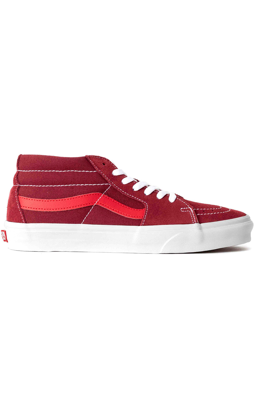 (WM3VXZ) Retro Sport Sk8-Mid Reissue Shoe - Biking Red