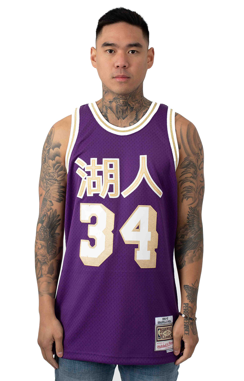 Shaquille O'Neal Lakers Chinese New Year Jersey