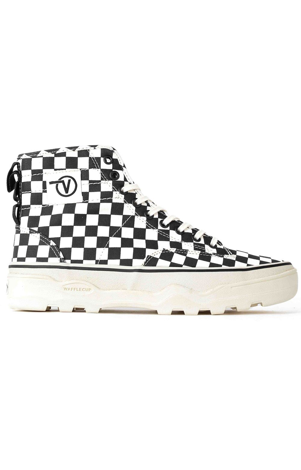 (4P3kTUY) Canvas Sentry WC Shoe - Checkerboard