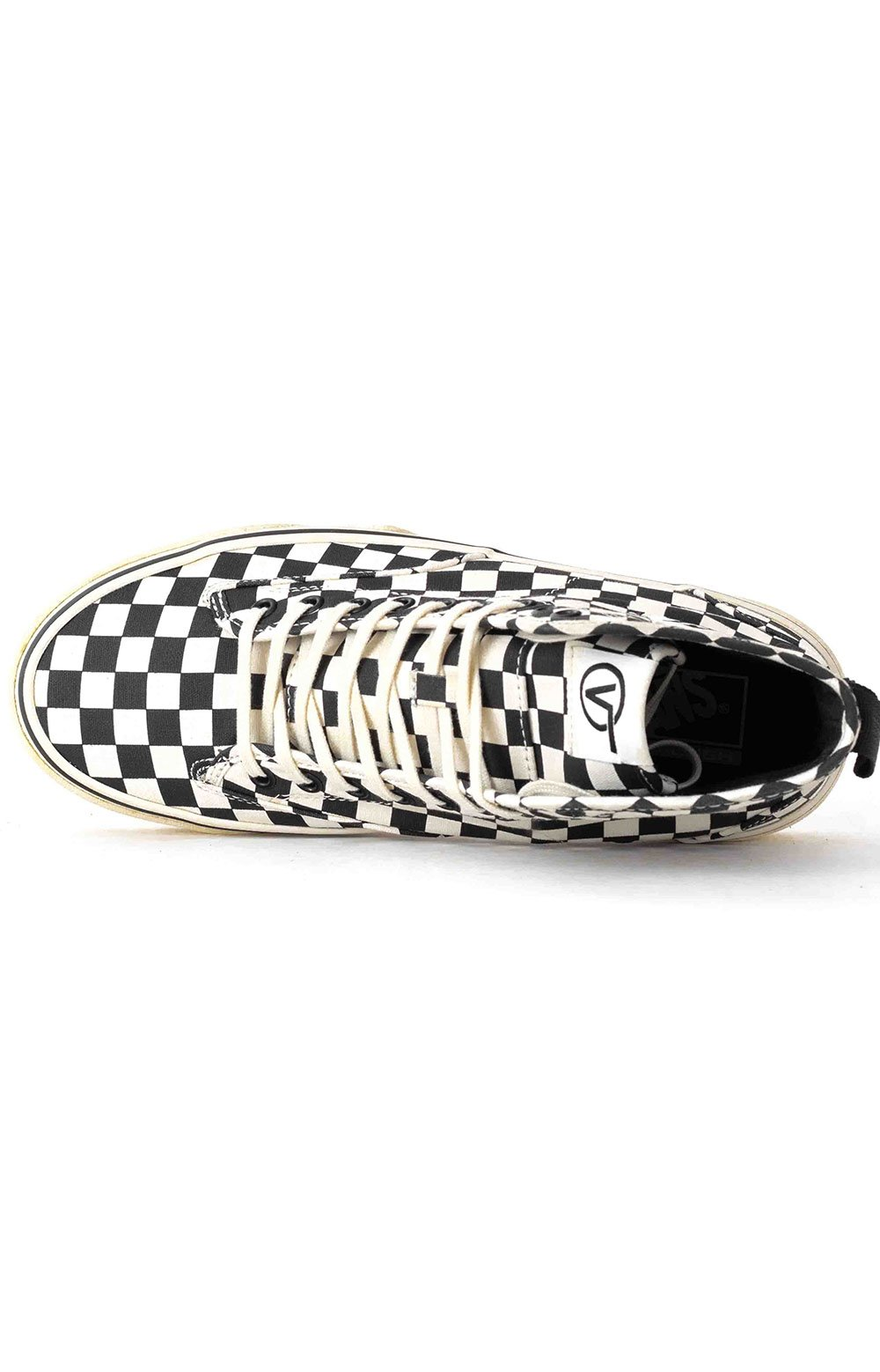 (4P3kTUY) Canvas Sentry WC Shoe - Checkerboard 2