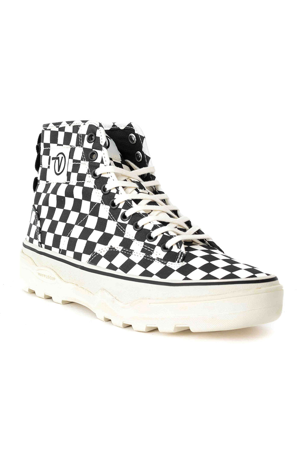 (4P3kTUY) Canvas Sentry WC Shoe - Checkerboard 3