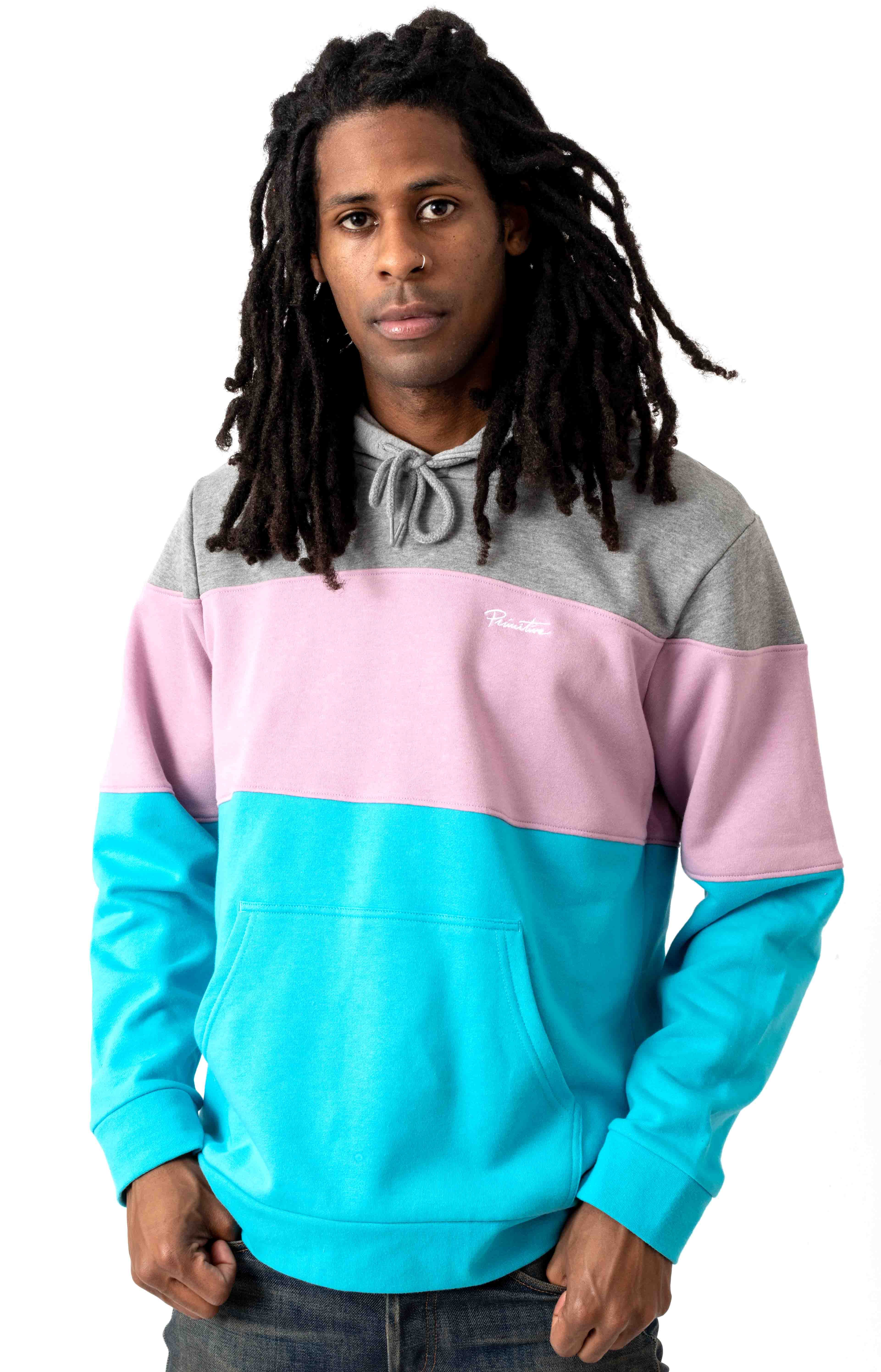 Primer Pullover Hoodie - Turquoise