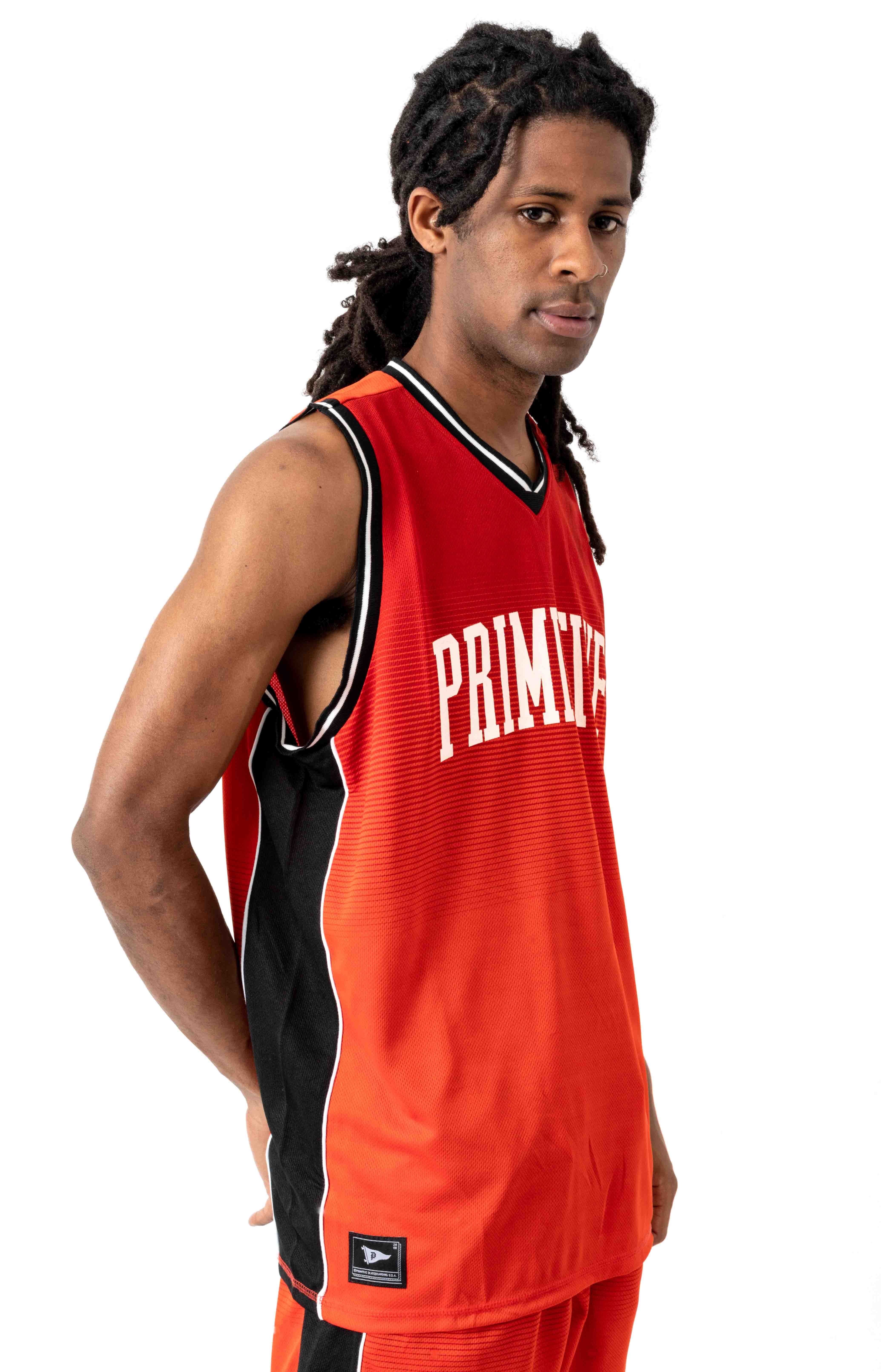 Champs Basketball Jersey - Red 2