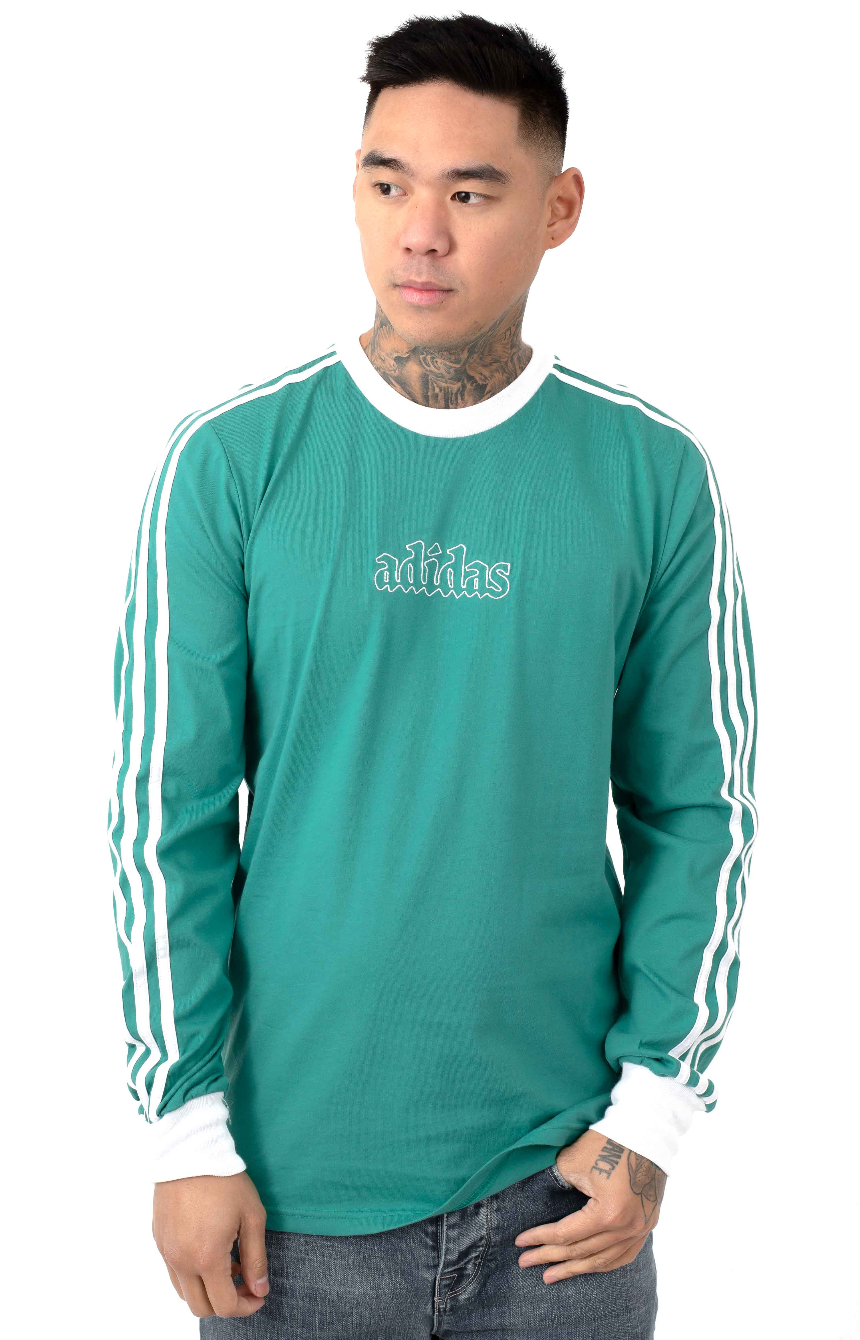 Creston L/S Shirt - Active Green