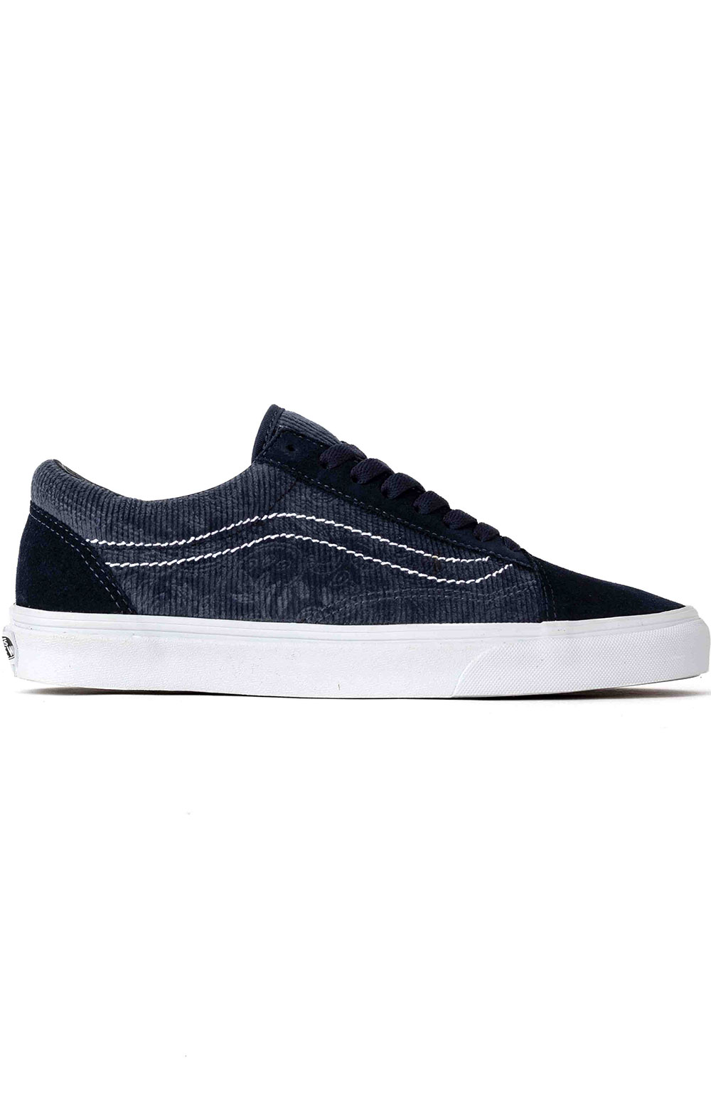 (BV5TPN) Paisley Old Skool Shoe - Blue