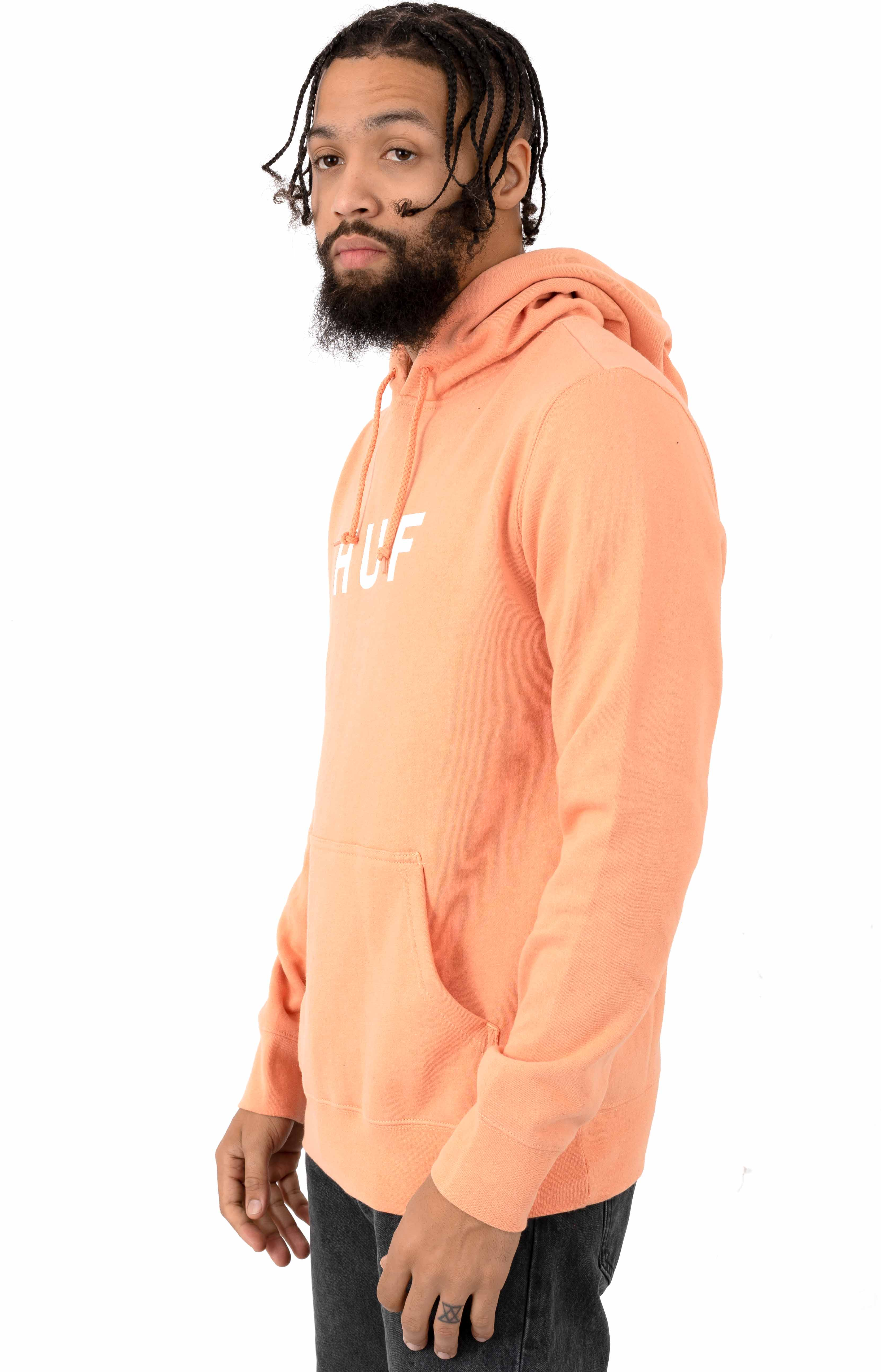 Essentials OG Logo Pullover Hoodie - Canyon Sunset 2