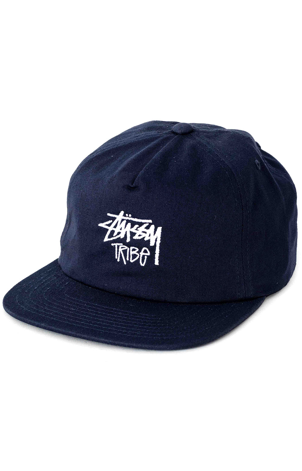 Tribe Snap-Back Hat - Navy