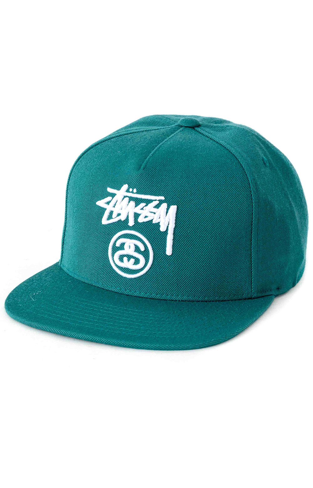 Stock Lock Snap-Back Hat - Green