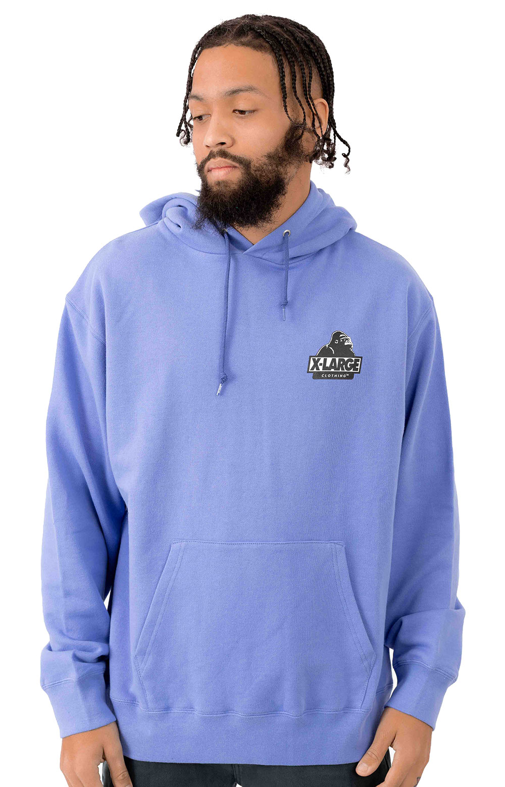 Behind OG Pullover Hoodie - Light Purple