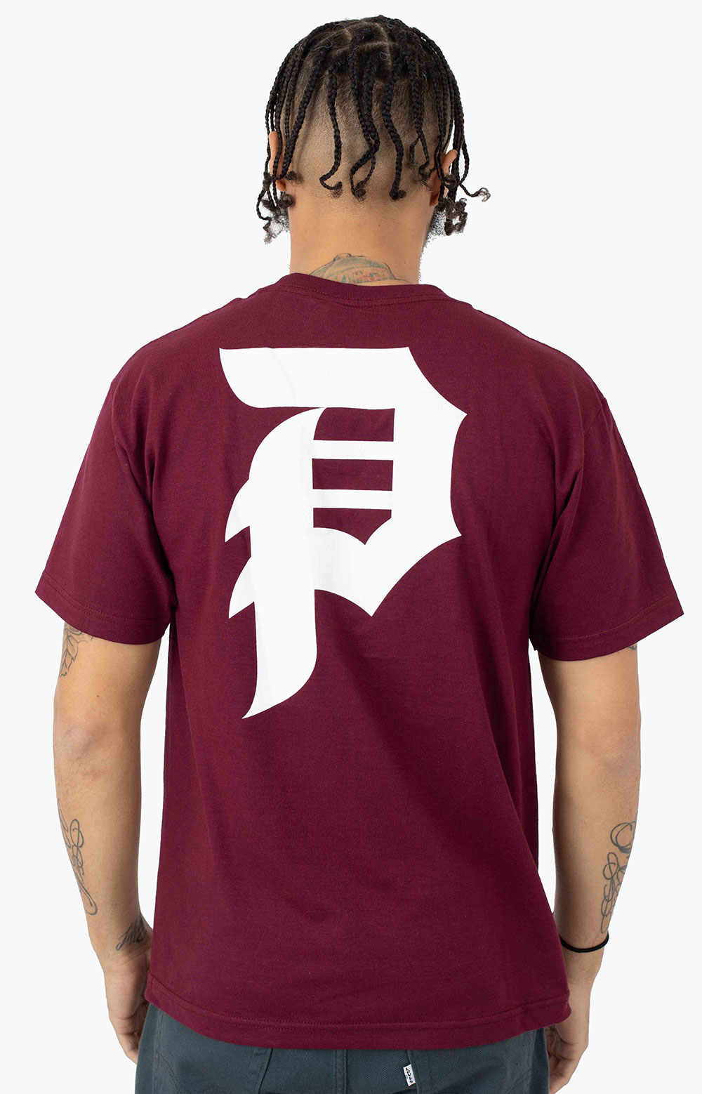 Dirty P T-Shirt - Burgundy