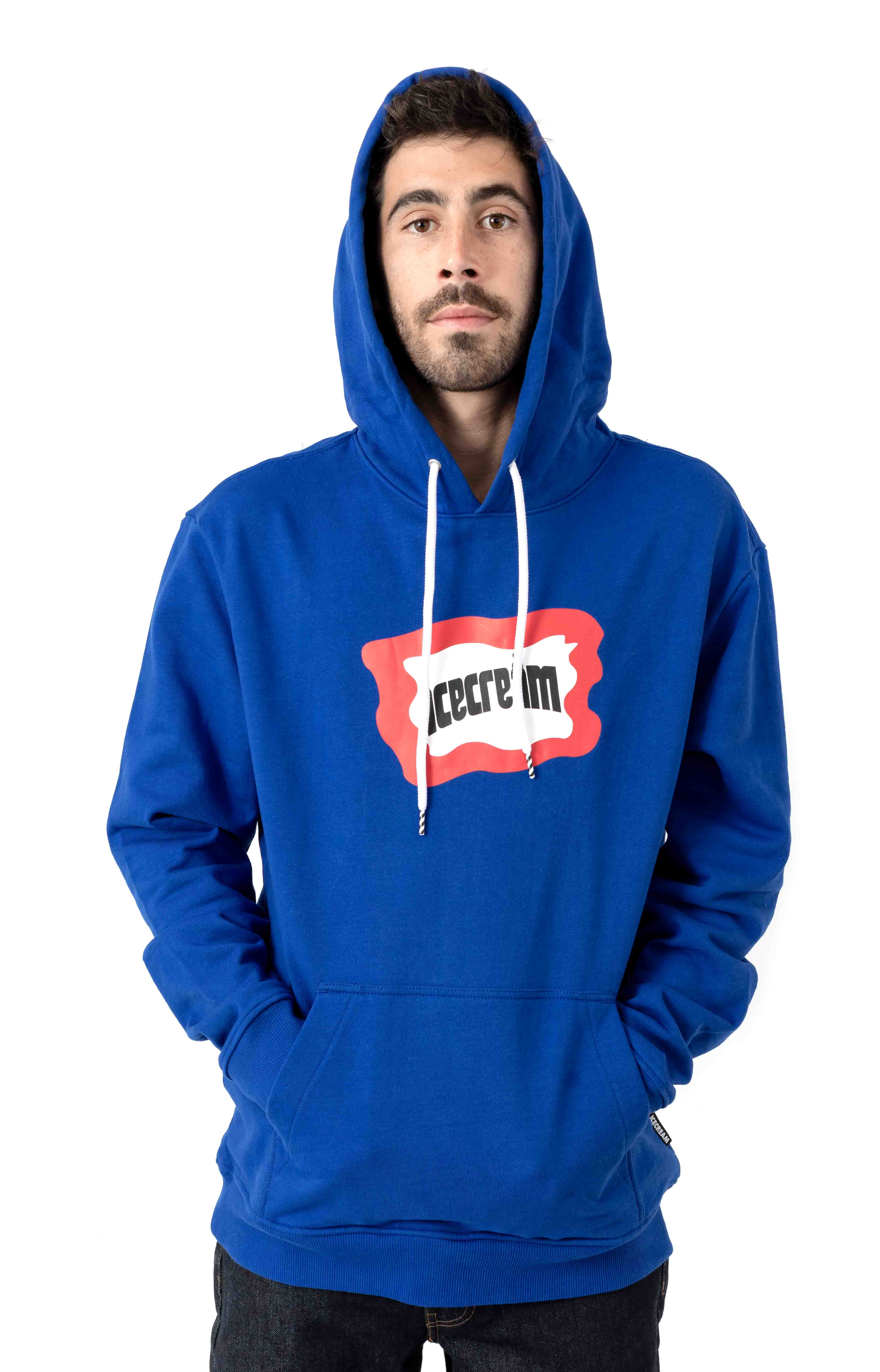 Flag Pullover Hoodie - Surf The Web